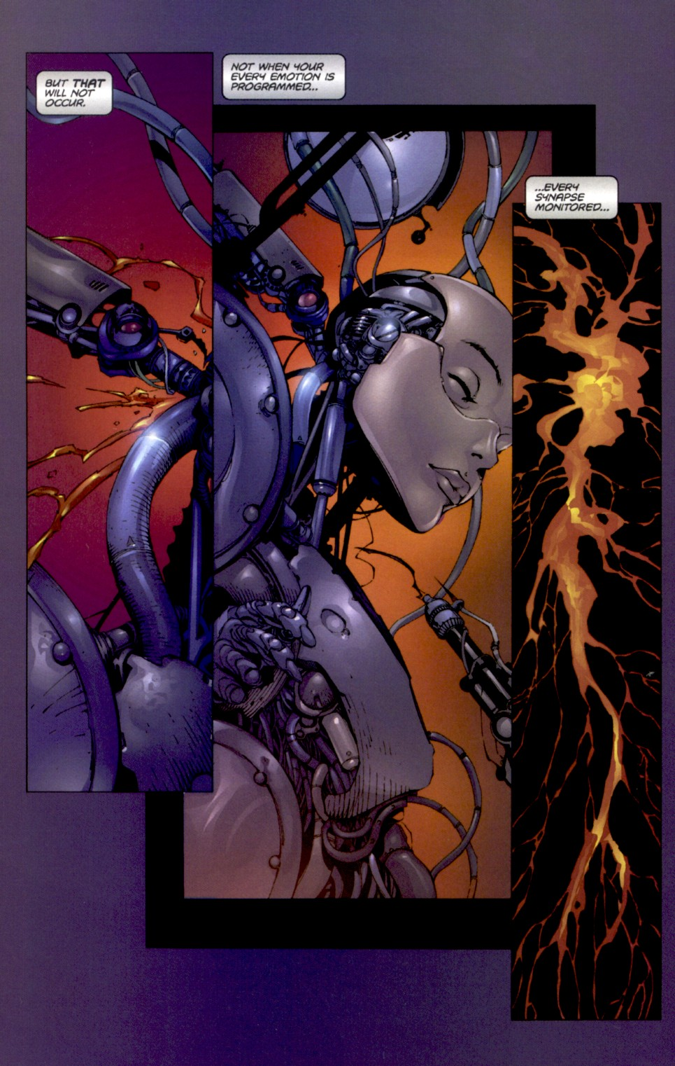 Read online Aphrodite IX (2000) comic -  Issue #0 - 6