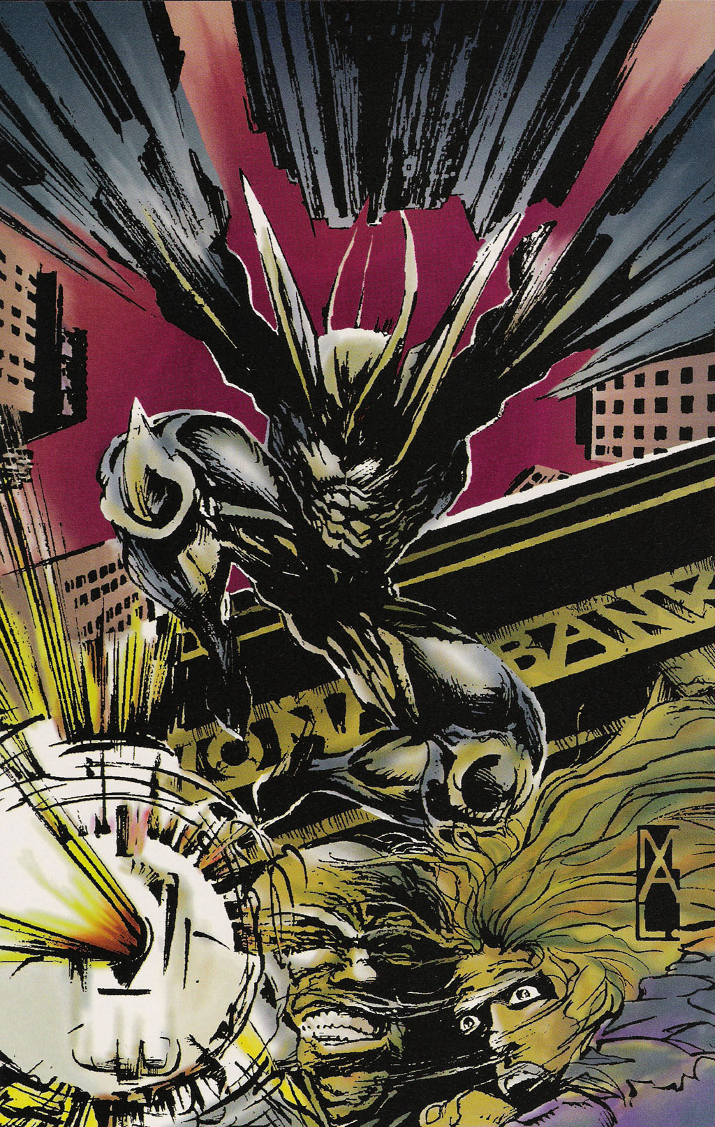 Read online ShadowHawk Gallery comic -  Issue # Full - 19