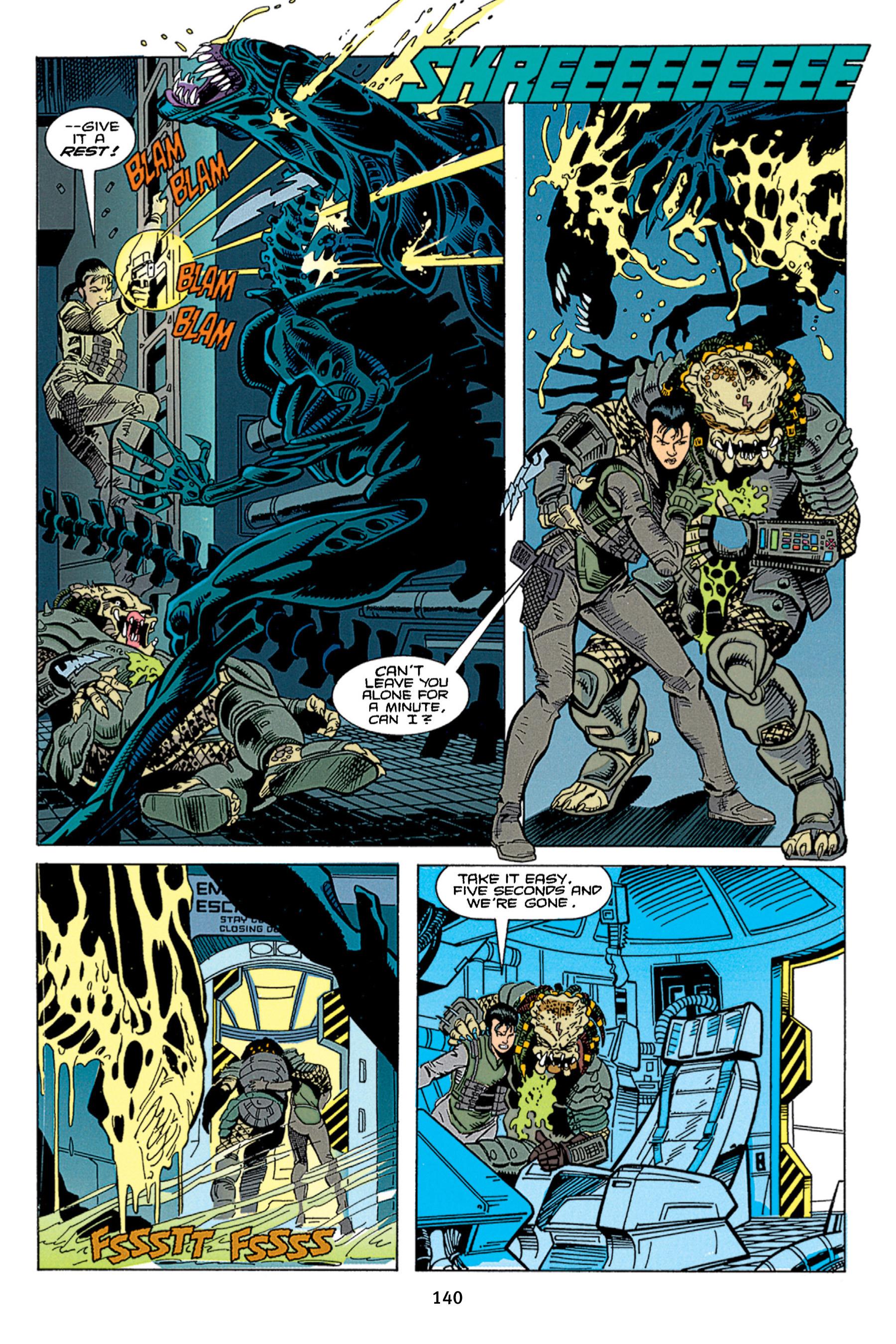Read online Aliens vs. Predator Omnibus comic -  Issue # _TPB 1 Part 2 - 39