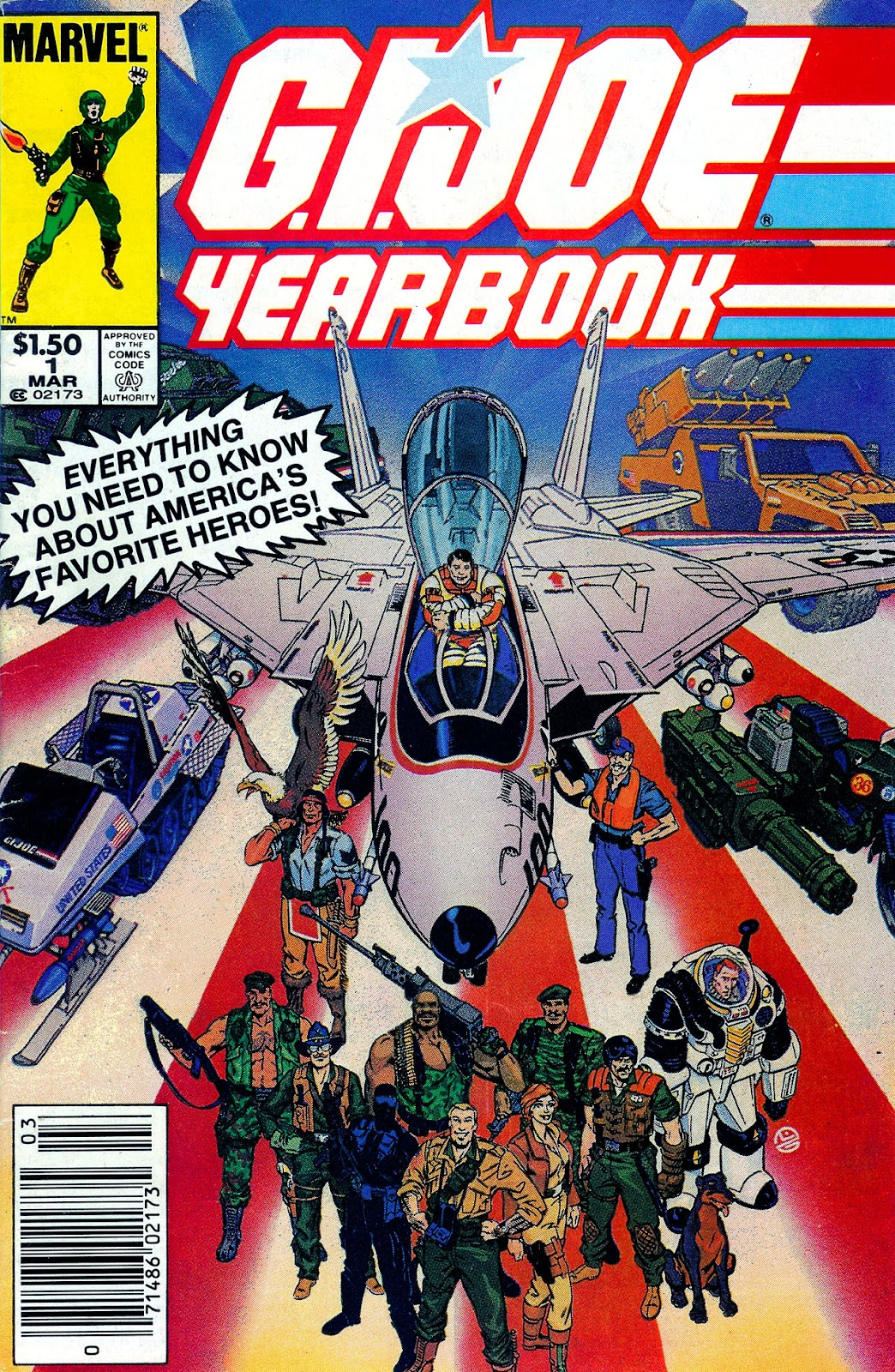 G.I. Joe Yearbook issue 1 - Page 1
