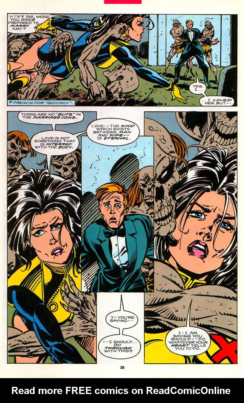 Read online Alpha Flight (1983) comic -  Issue #107 - 22