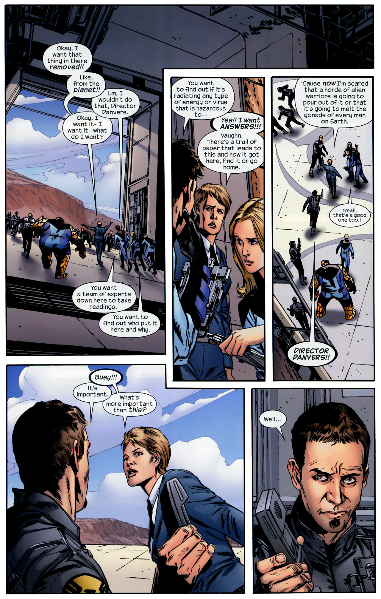 Read online Ultimate Origins comic -  Issue #3 - 4