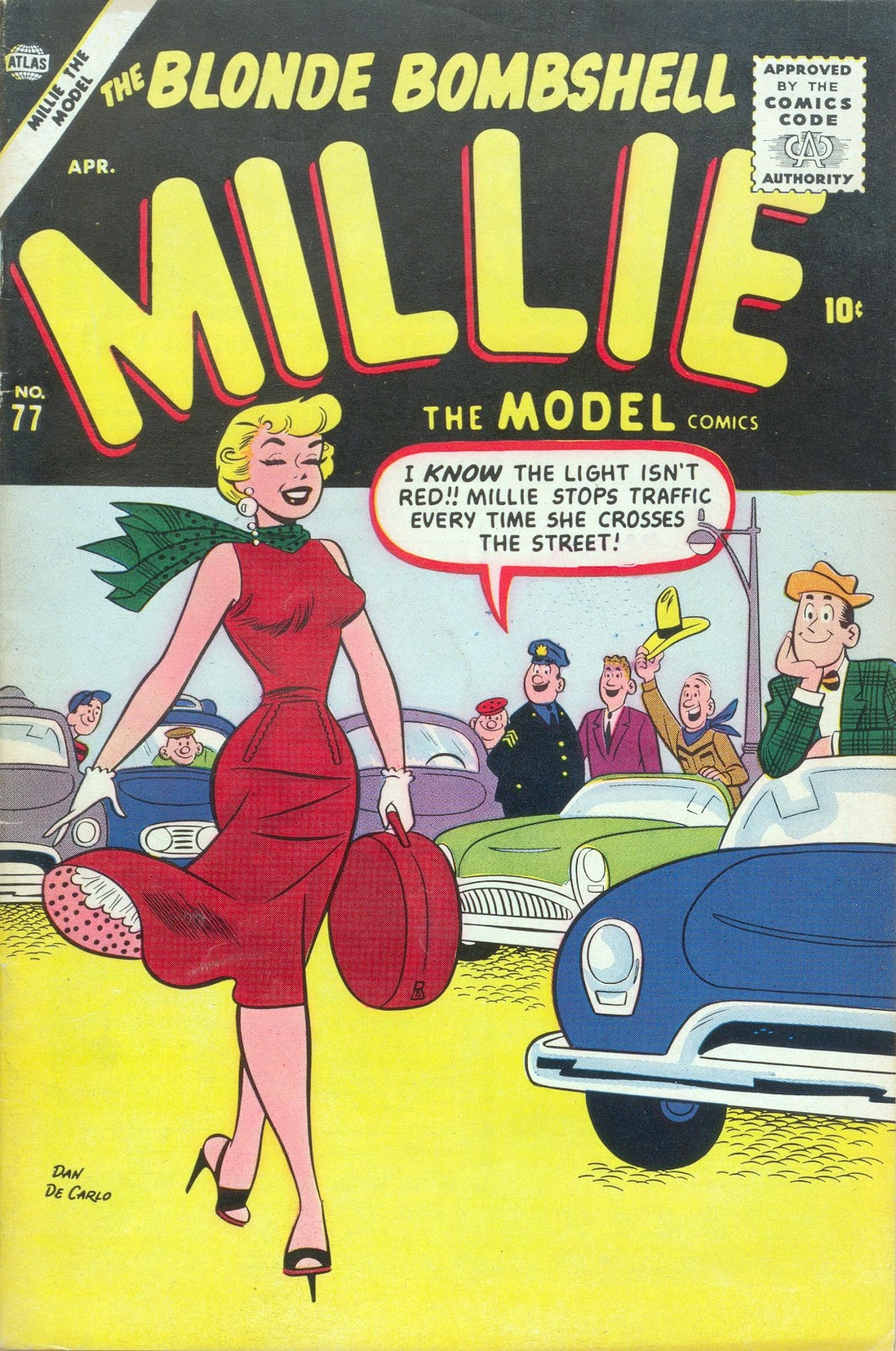 Millie the Model issue 77 - Page 1