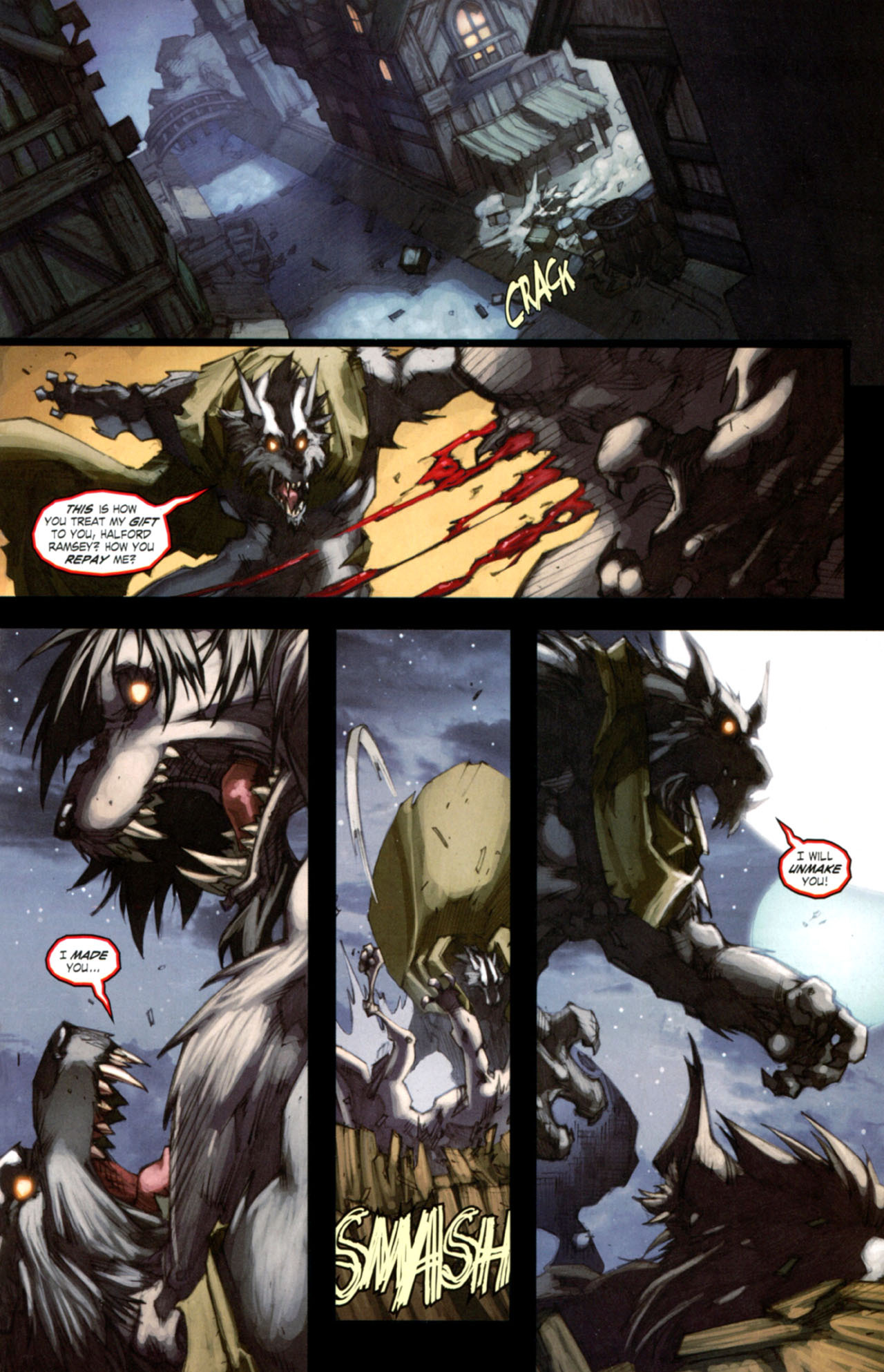 Read online World of Warcraft: Curse of the Worgen comic -  Issue #4 - 18