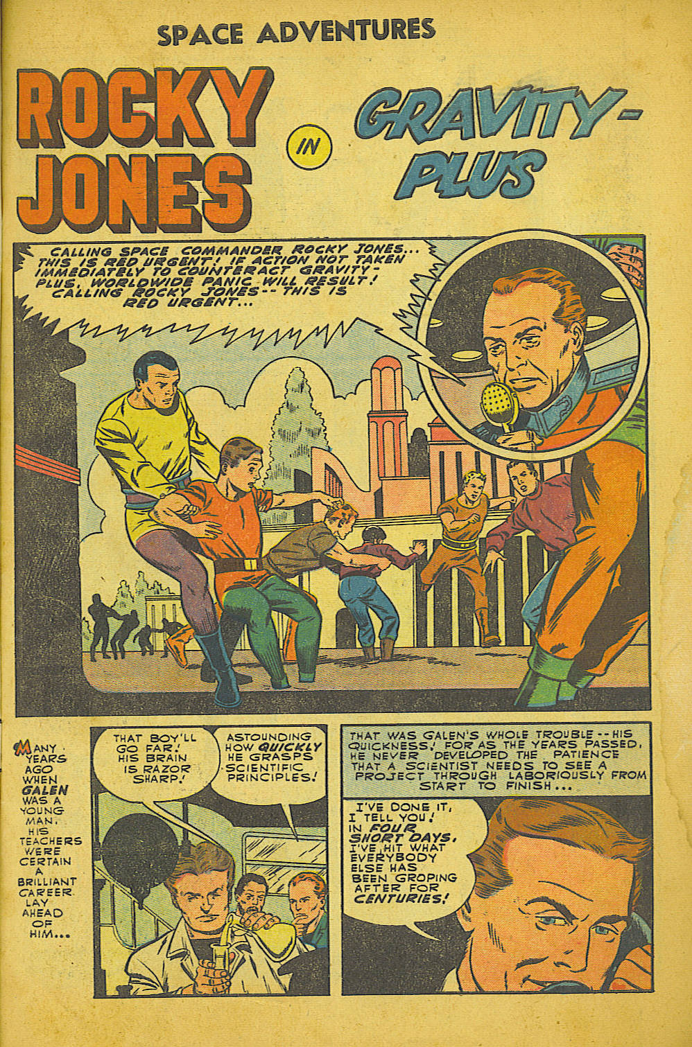 Read online Space Adventures comic -  Issue #18 - 2