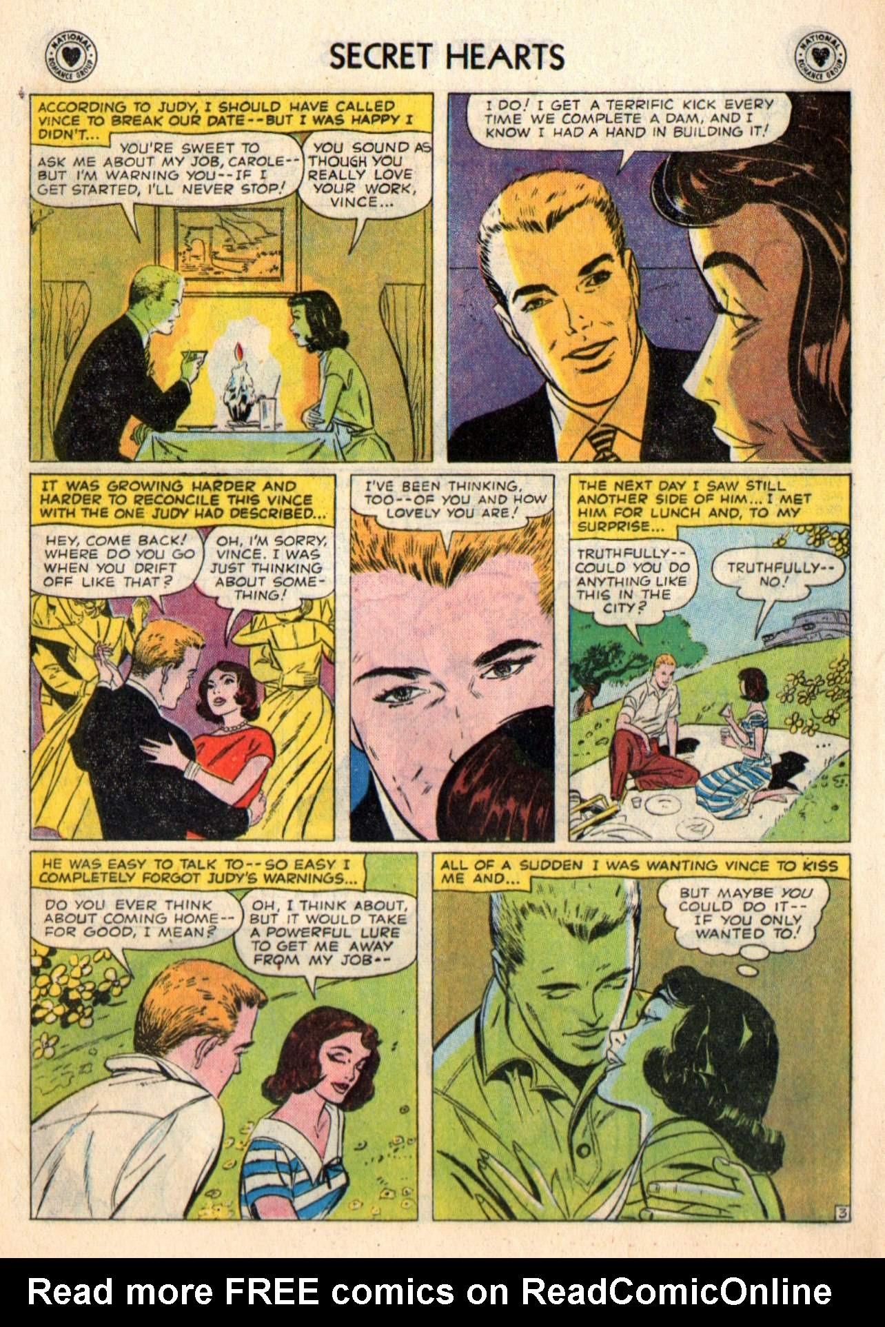 Read online Secret Hearts comic -  Issue #48 - 20