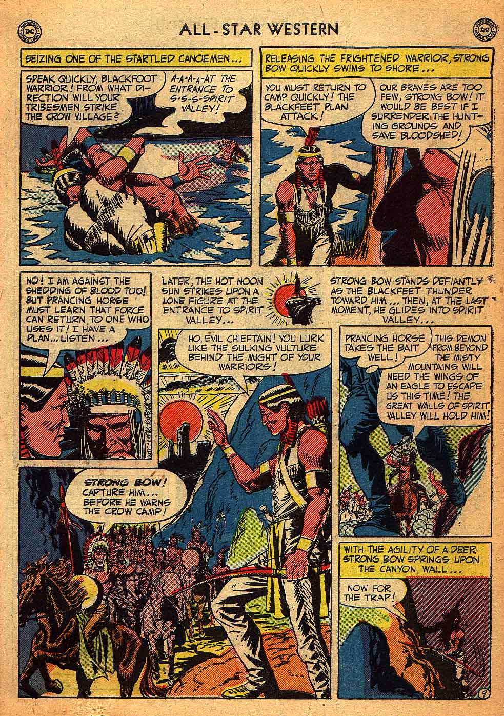Read online All-Star Western (1951) comic -  Issue #58 - 47