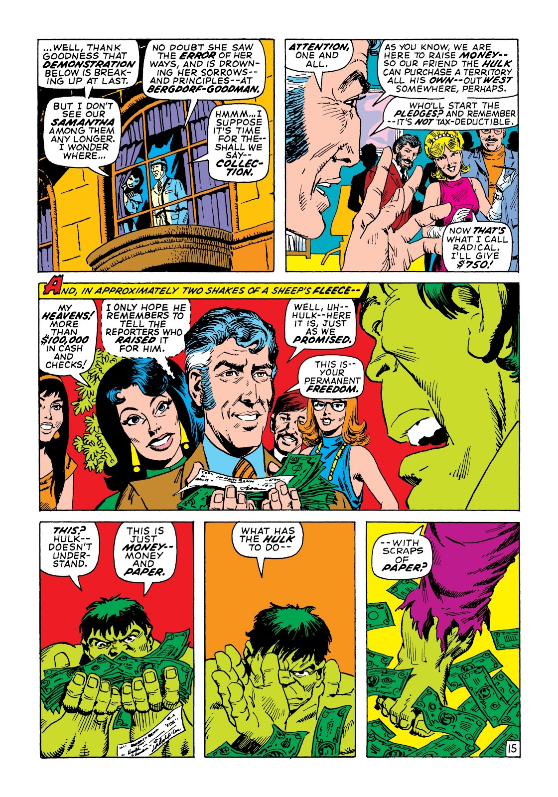 Read online Marvel Masterworks: The Incredible Hulk comic -  Issue # TPB 7 (Part 2) - 81