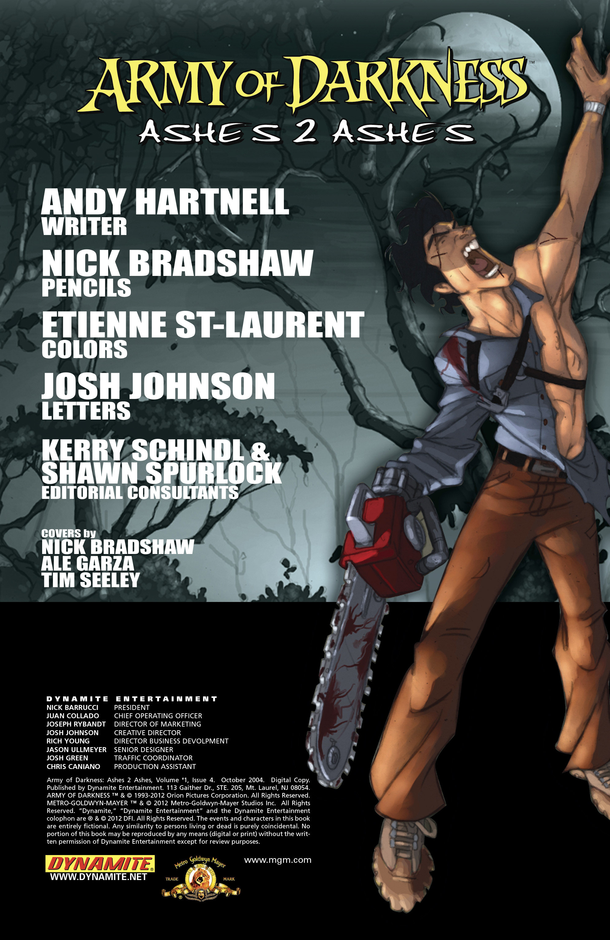 Read online Army of Darkness: Ashes 2 Ashes comic -  Issue #4 - 5