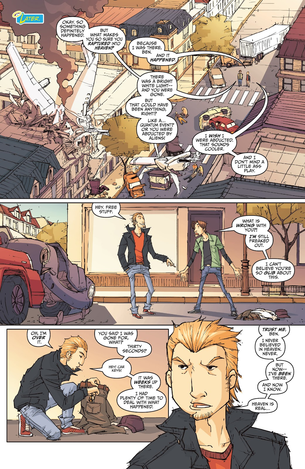 Read online The End Times of Bram and Ben comic -  Issue #1 - 9