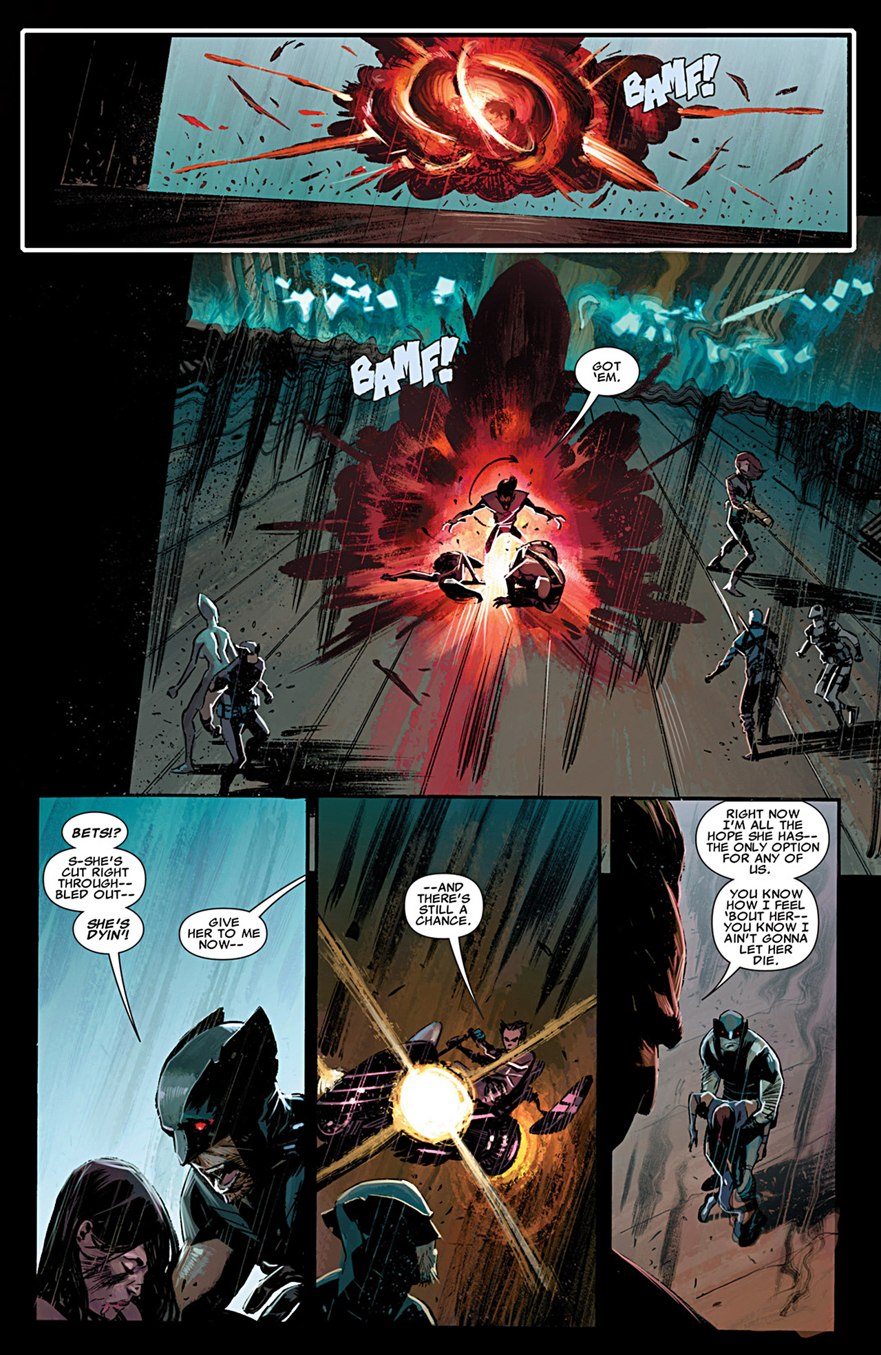 Read online Uncanny X-Force (2010) comic -  Issue #29 - 9