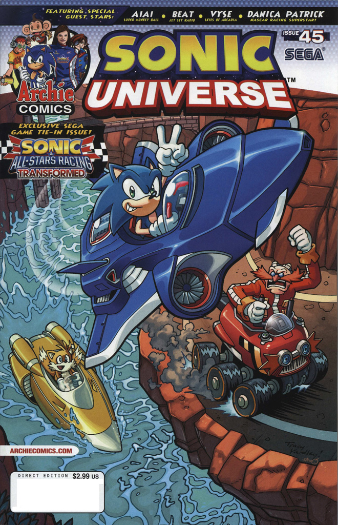 Sonic Universe 45 Page 1