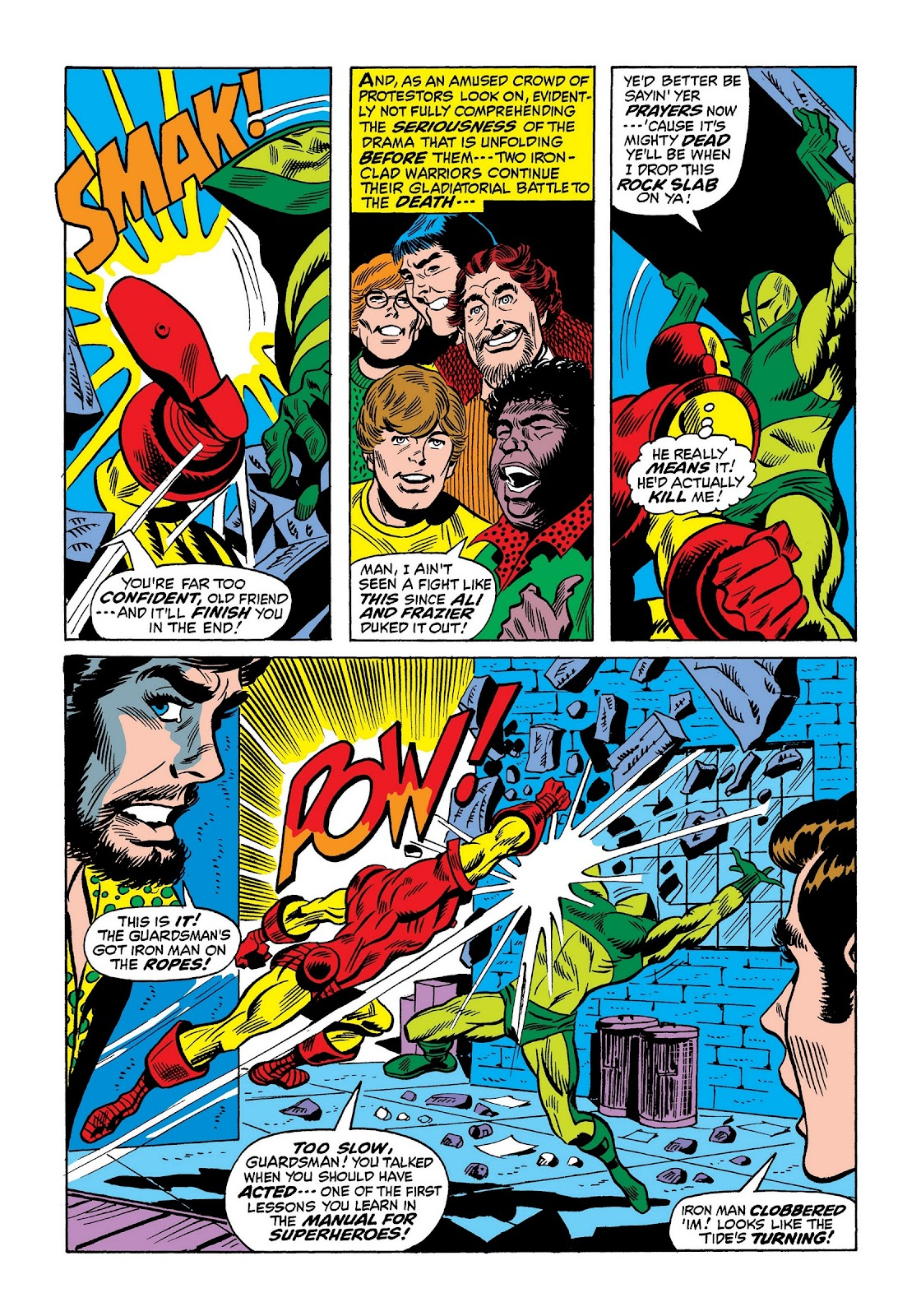 Read online Marvel Masterworks: The Invincible Iron Man comic -  Issue # TPB 8 (Part 2) - 59