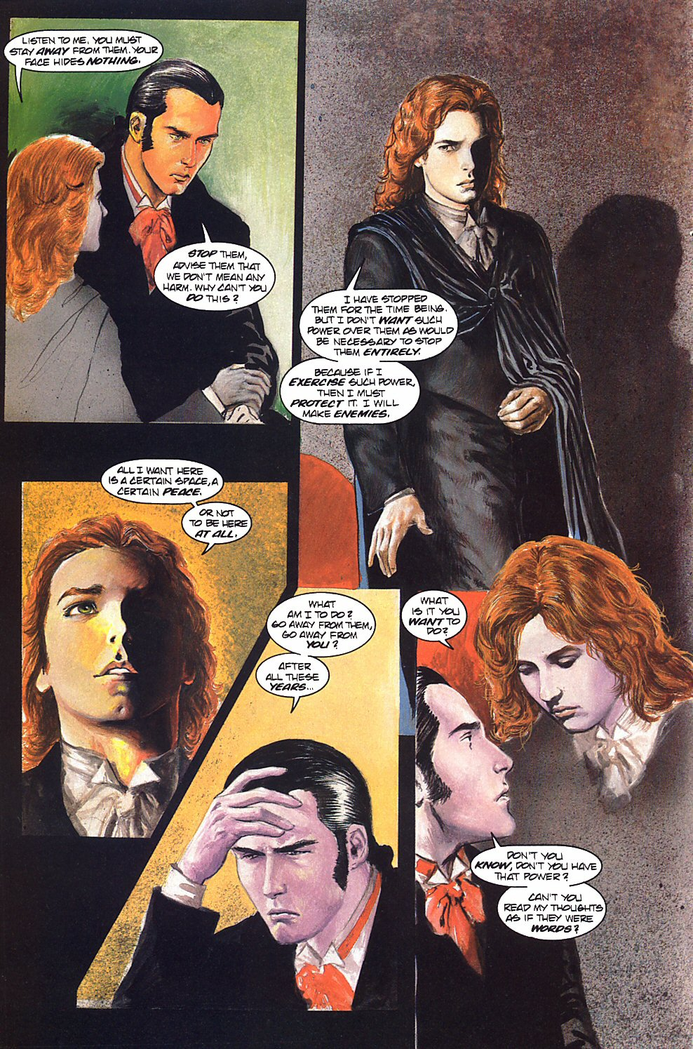 Read online Anne Rice's Interview with the Vampire comic -  Issue #9 - 11