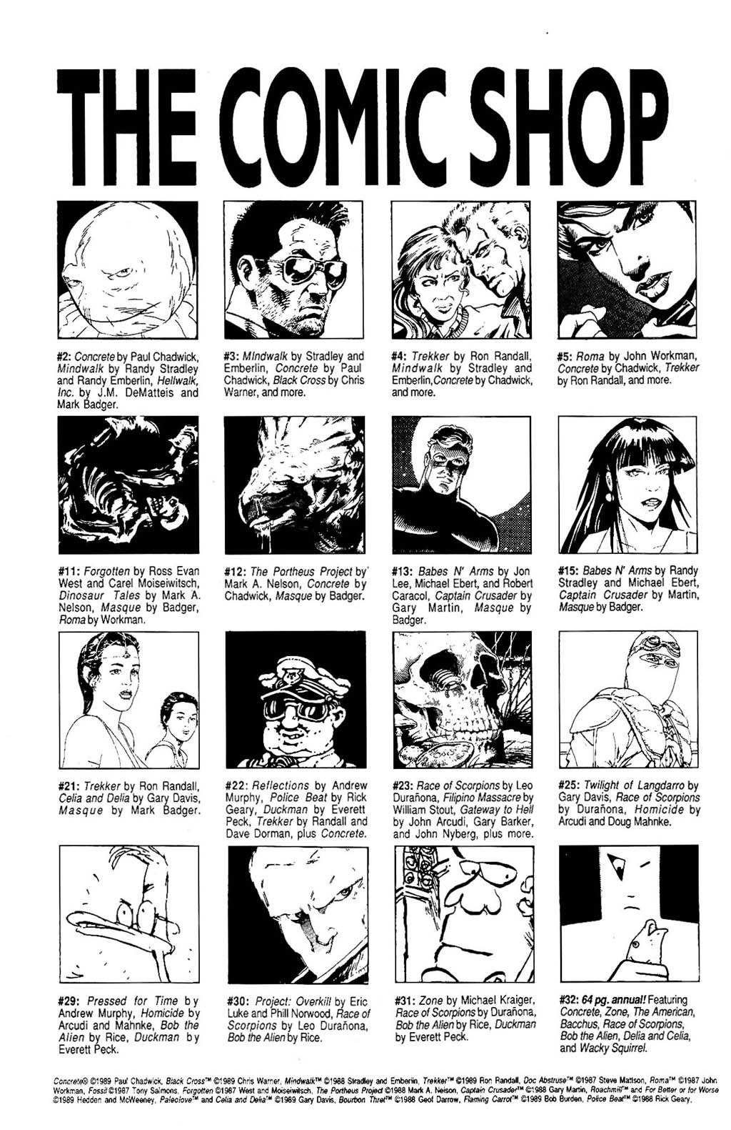 Read online The Adventures of Luther Arkwright comic -  Issue #5 - 21