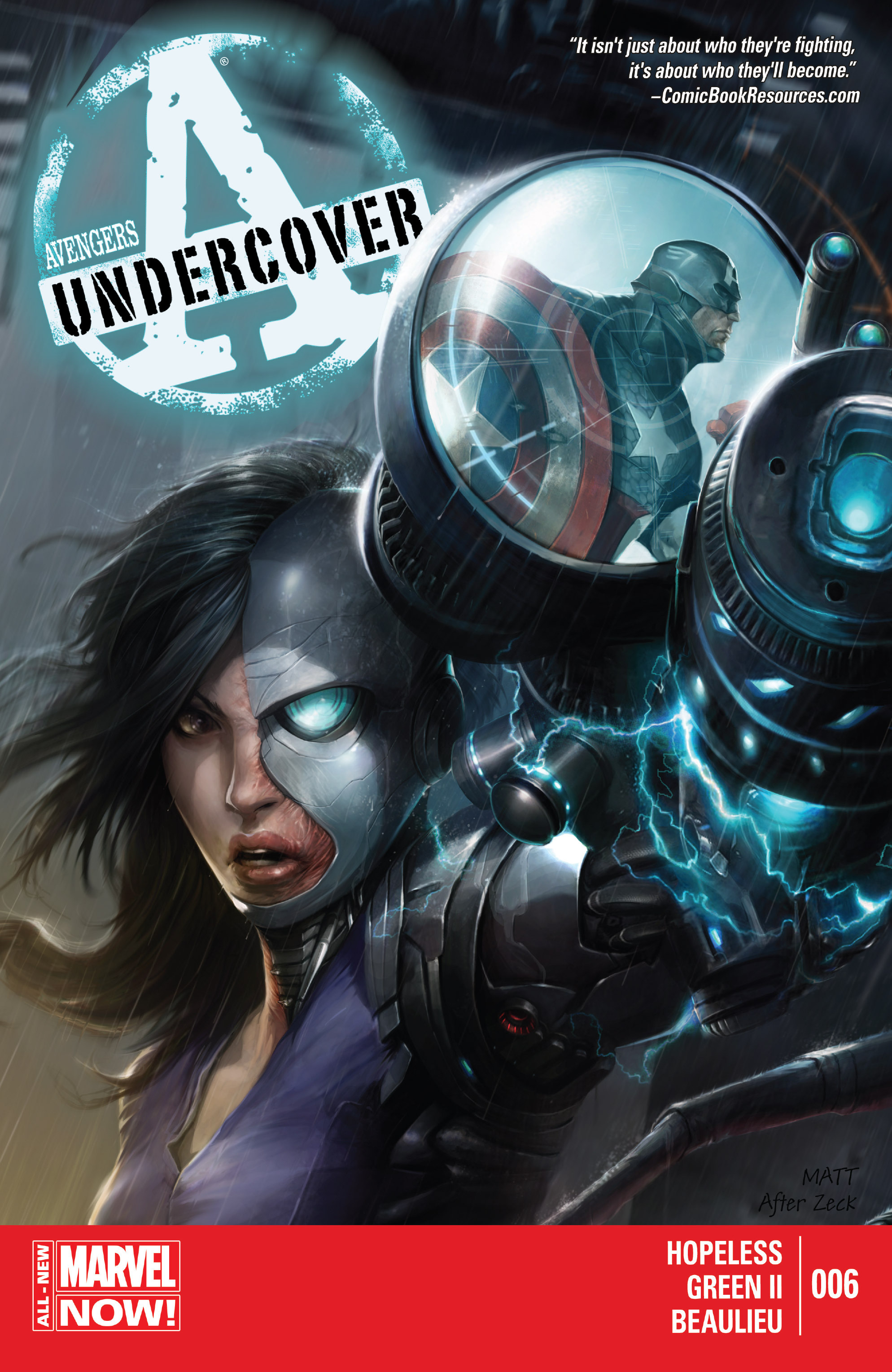 Read online Avengers Undercover comic -  Issue #6 - 1