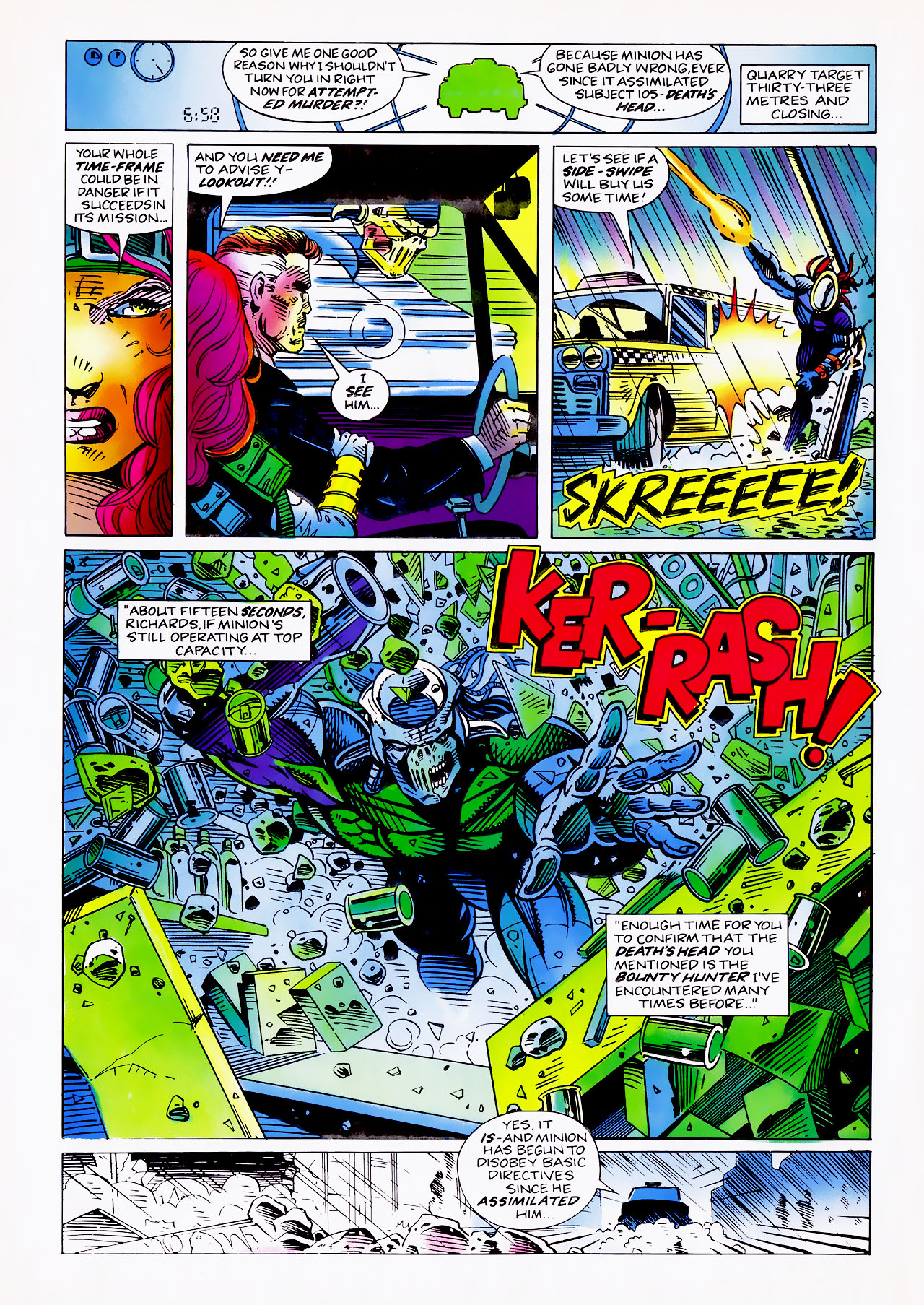 Read online Overkill comic -  Issue #15 - 10