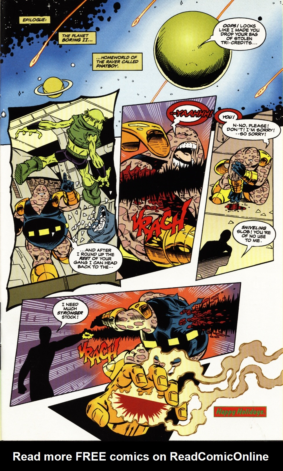 Read online Superboy & The Ravers comic -  Issue #5 - 22