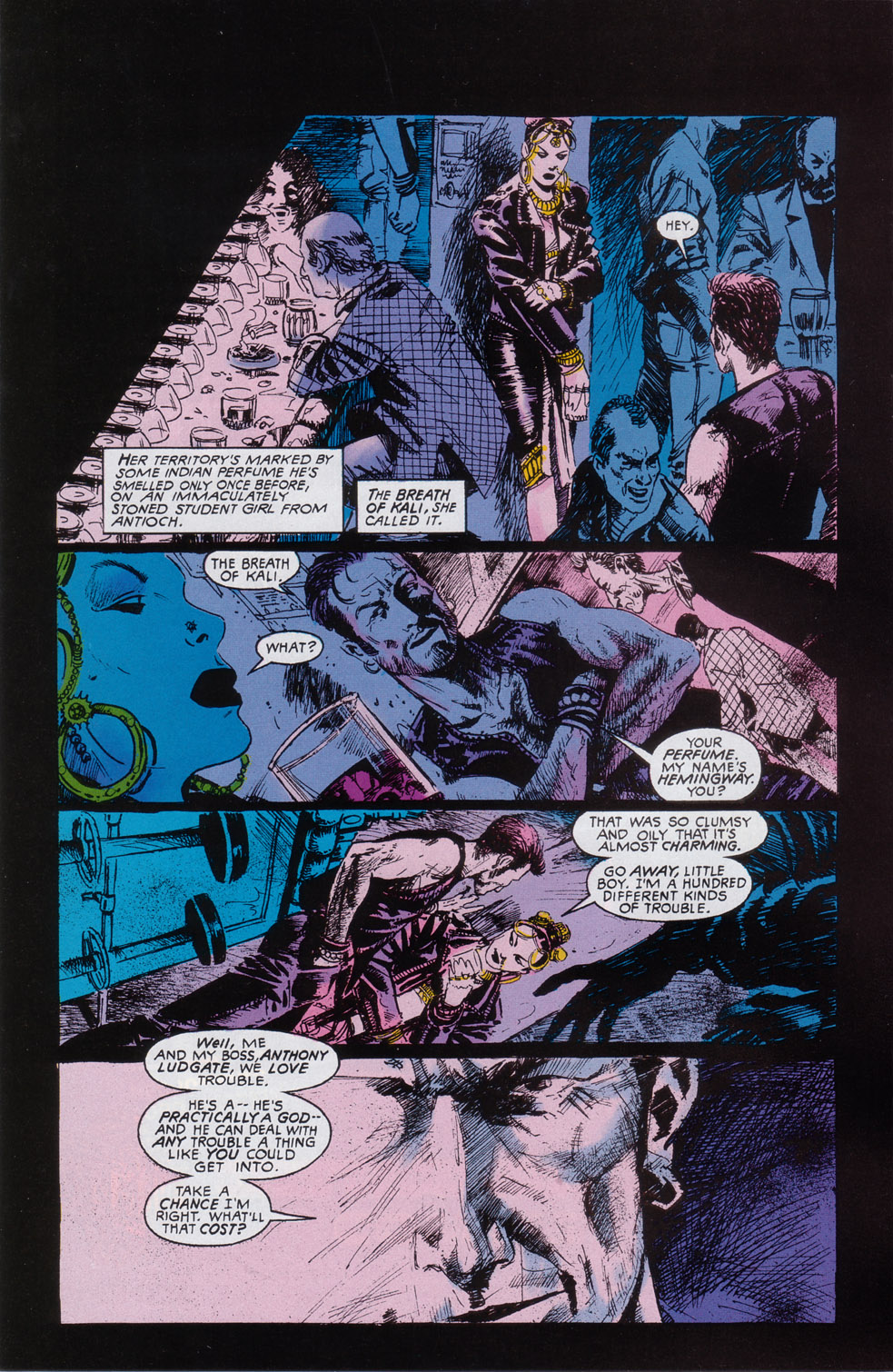Read online Druid comic -  Issue #2 - 15