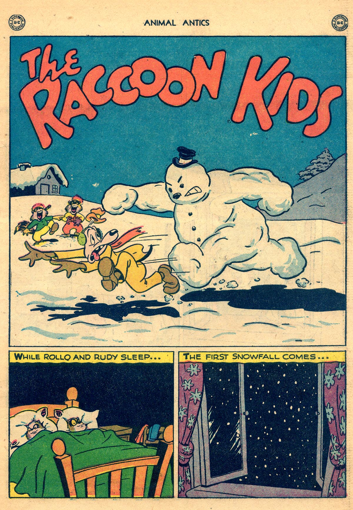 Read online Animal Antics comic -  Issue #8 - 3