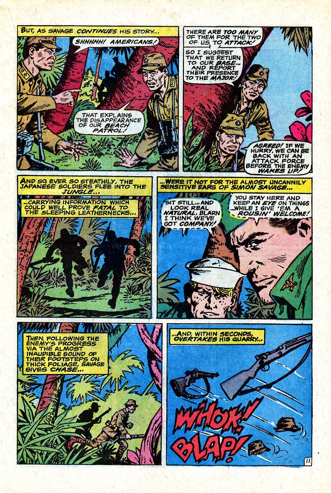 Captain Savage and his Leatherneck Raiders issue 18 - Page 17