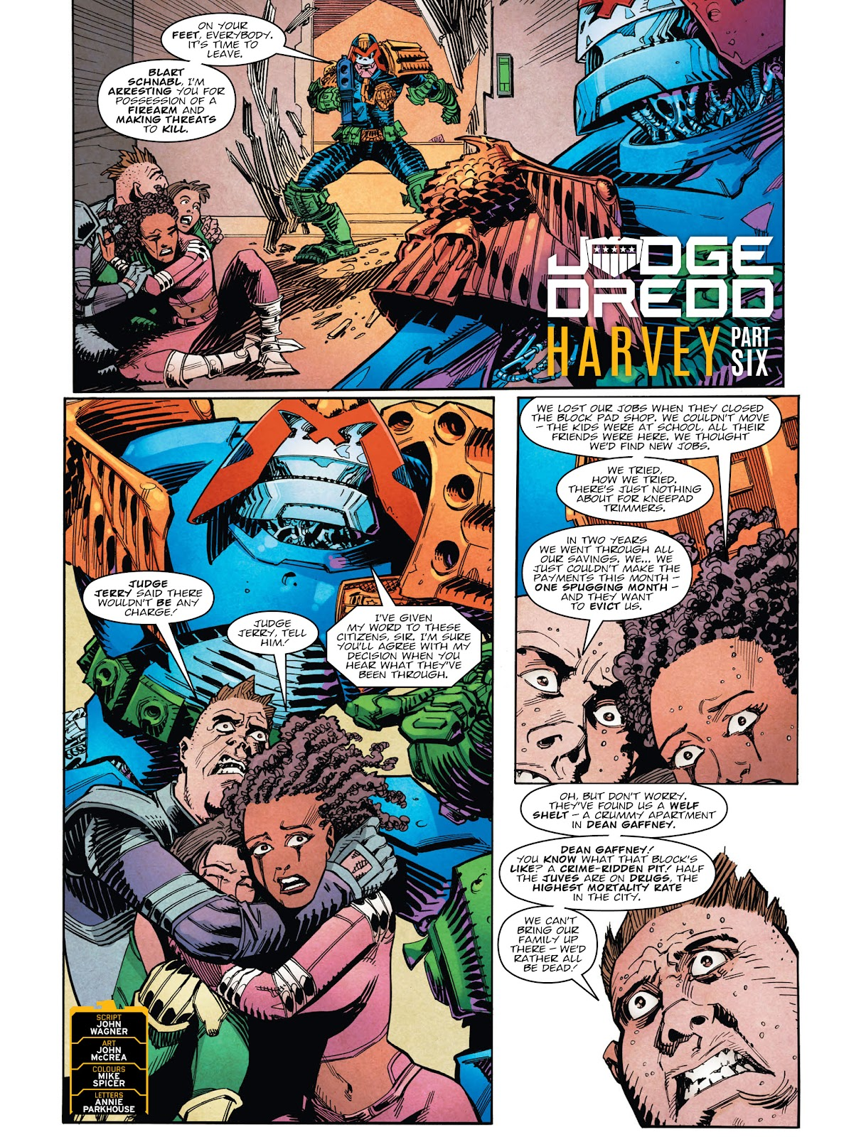 Read online 2000 AD comic -  Issue #2029 - 3