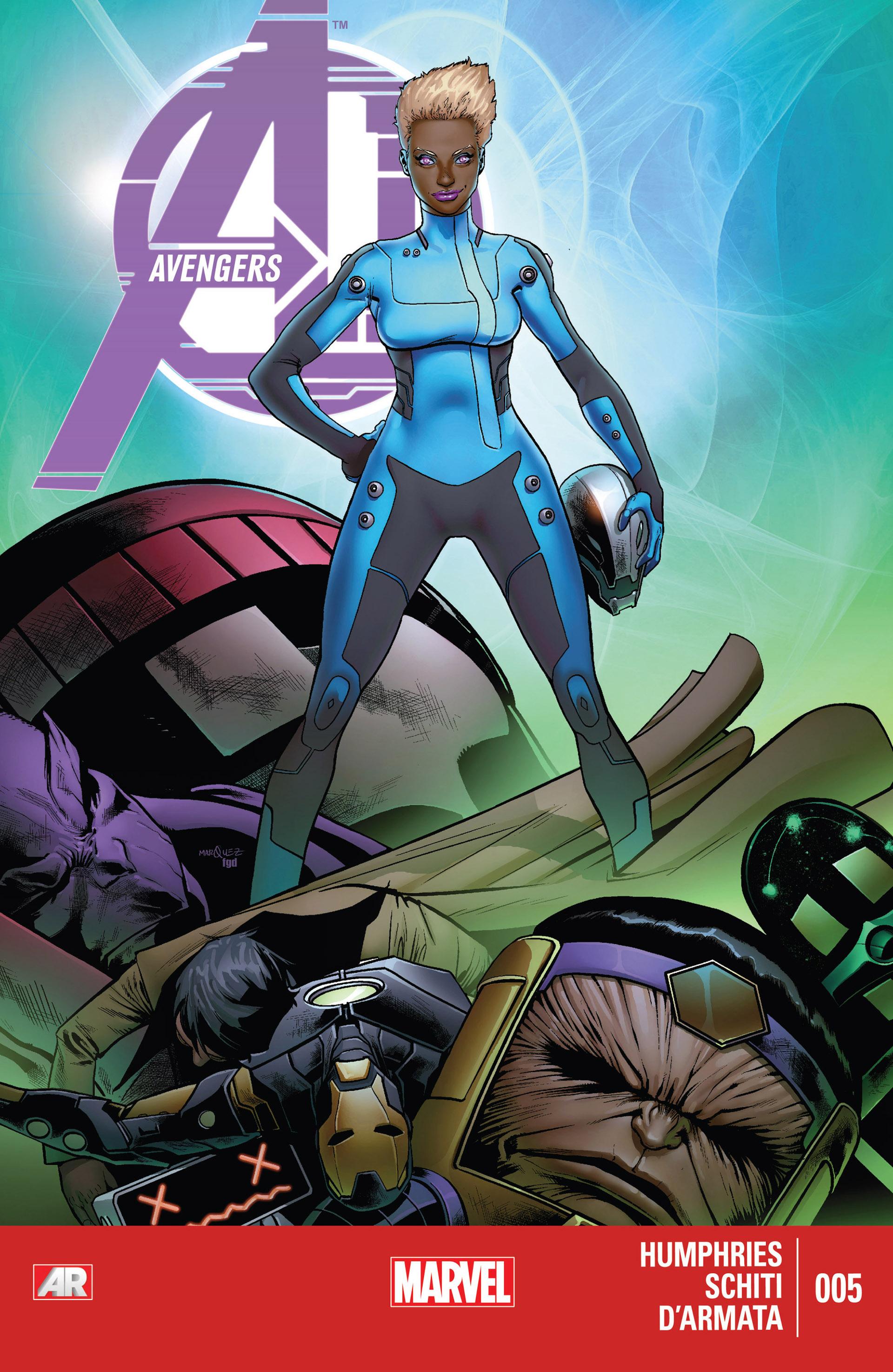 Avengers A.I. 5 Page 1