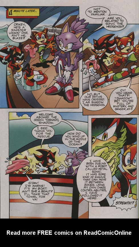 Read online Sonic Universe comic -  Issue #1 - 5