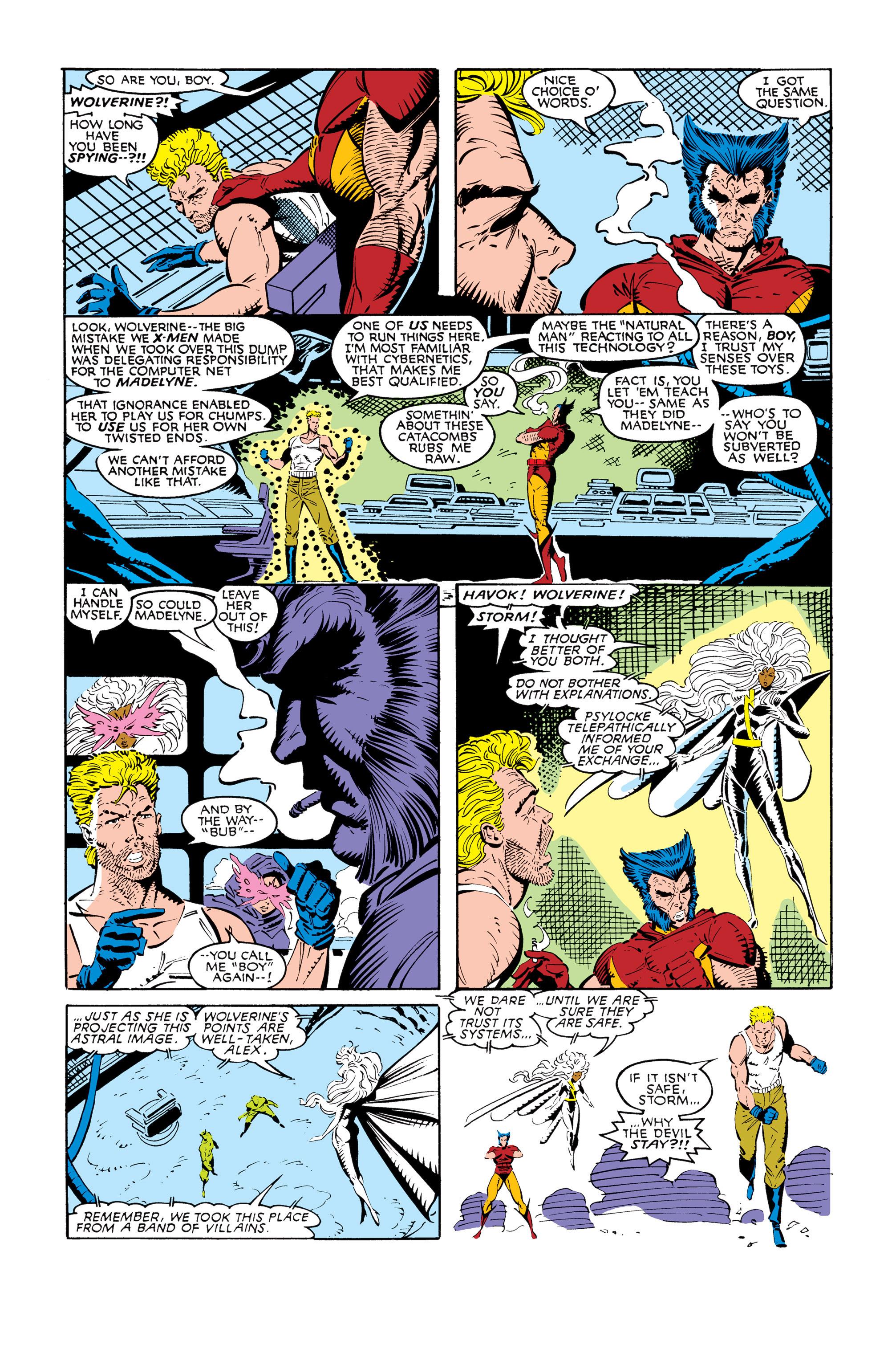 Read online Uncanny X-Men (1963) comic -  Issue #245 - 5