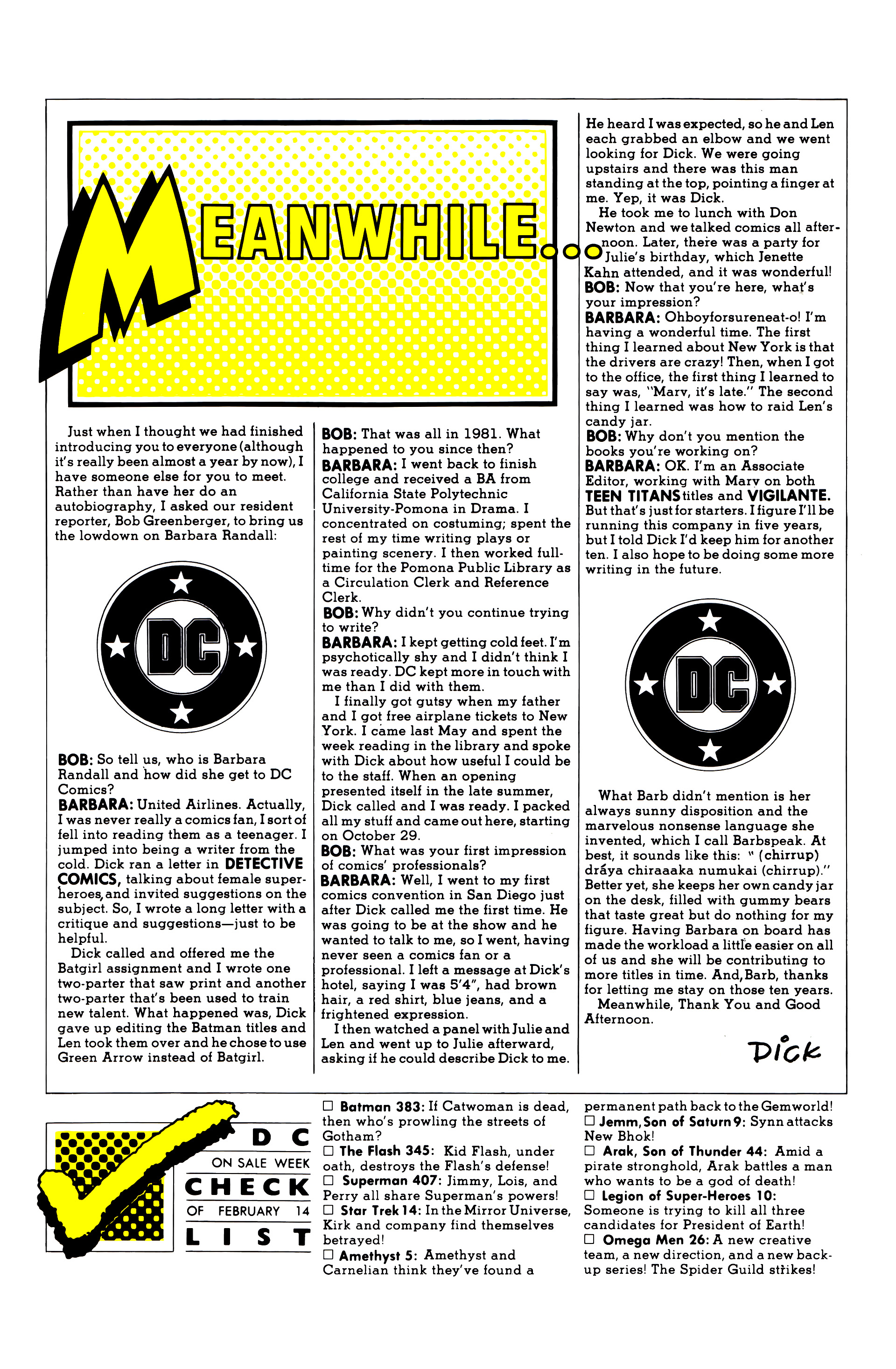 Legion of Super-Heroes (1984) 10 Page 27
