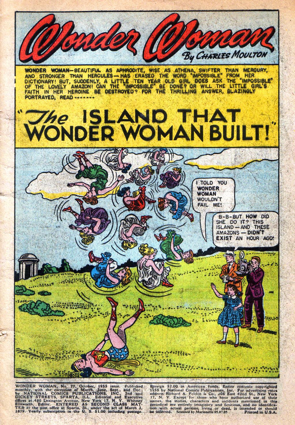 Read online Wonder Woman (1942) comic -  Issue #77 - 3