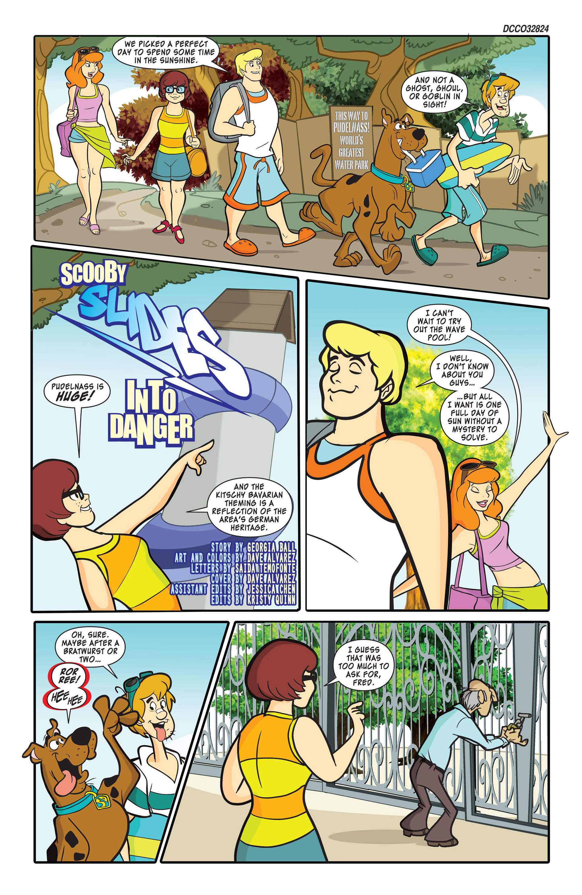 Read online Scooby-Doo: Where Are You? comic -  Issue #45 - 2