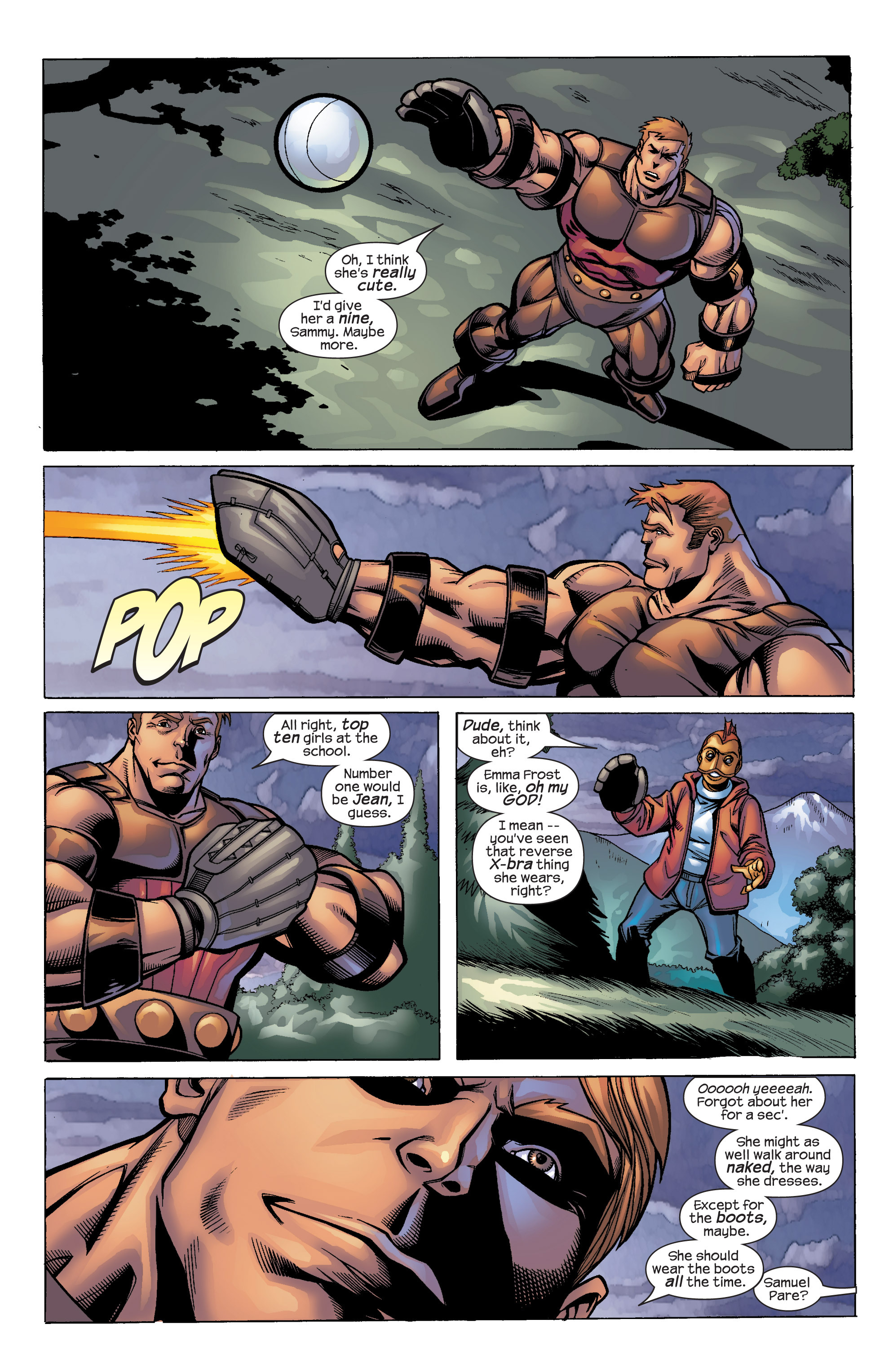 Read online Uncanny X-Men (1963) comic -  Issue #422 - 15