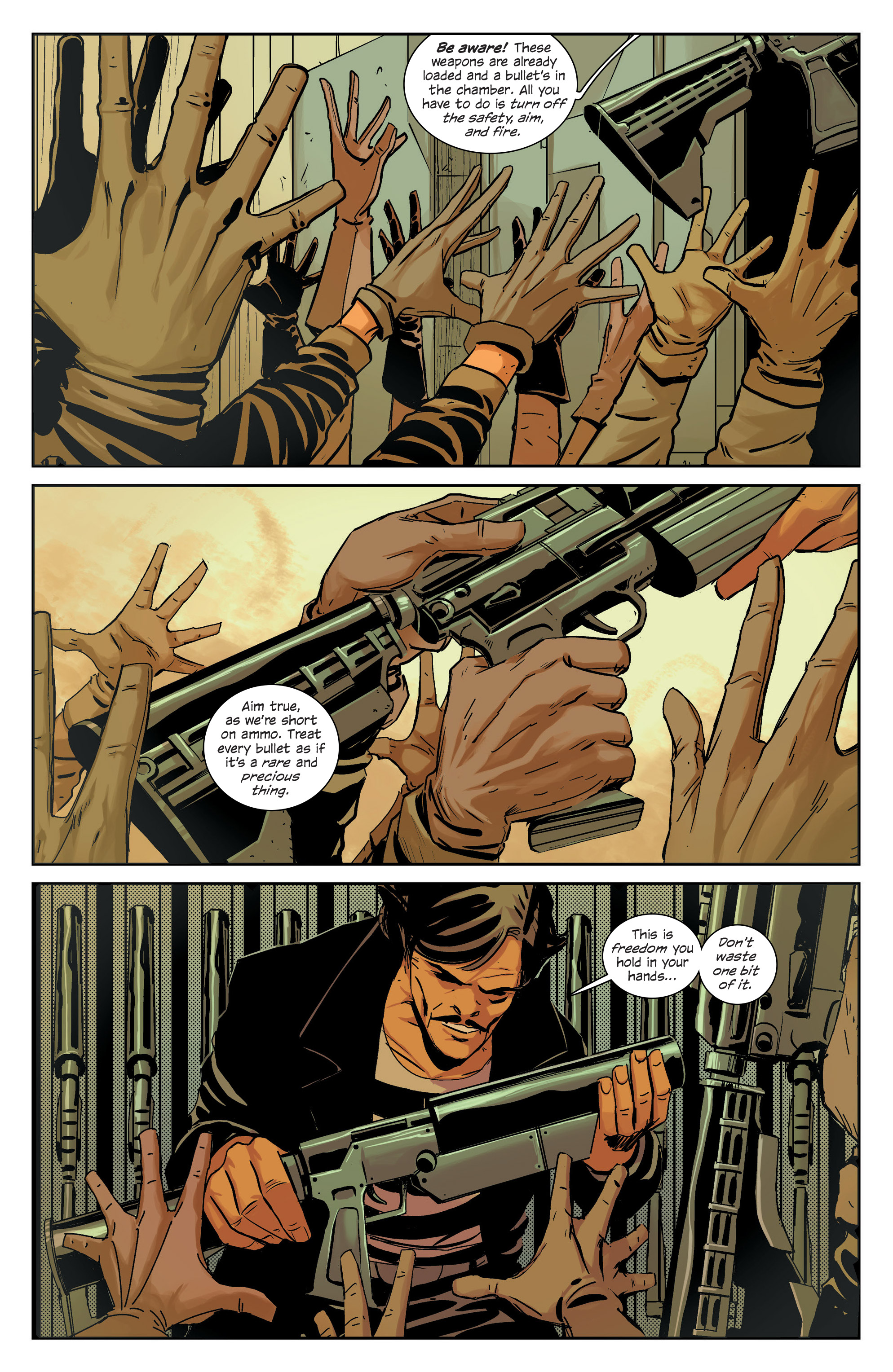 Read online East Of West comic -  Issue #33 - 11
