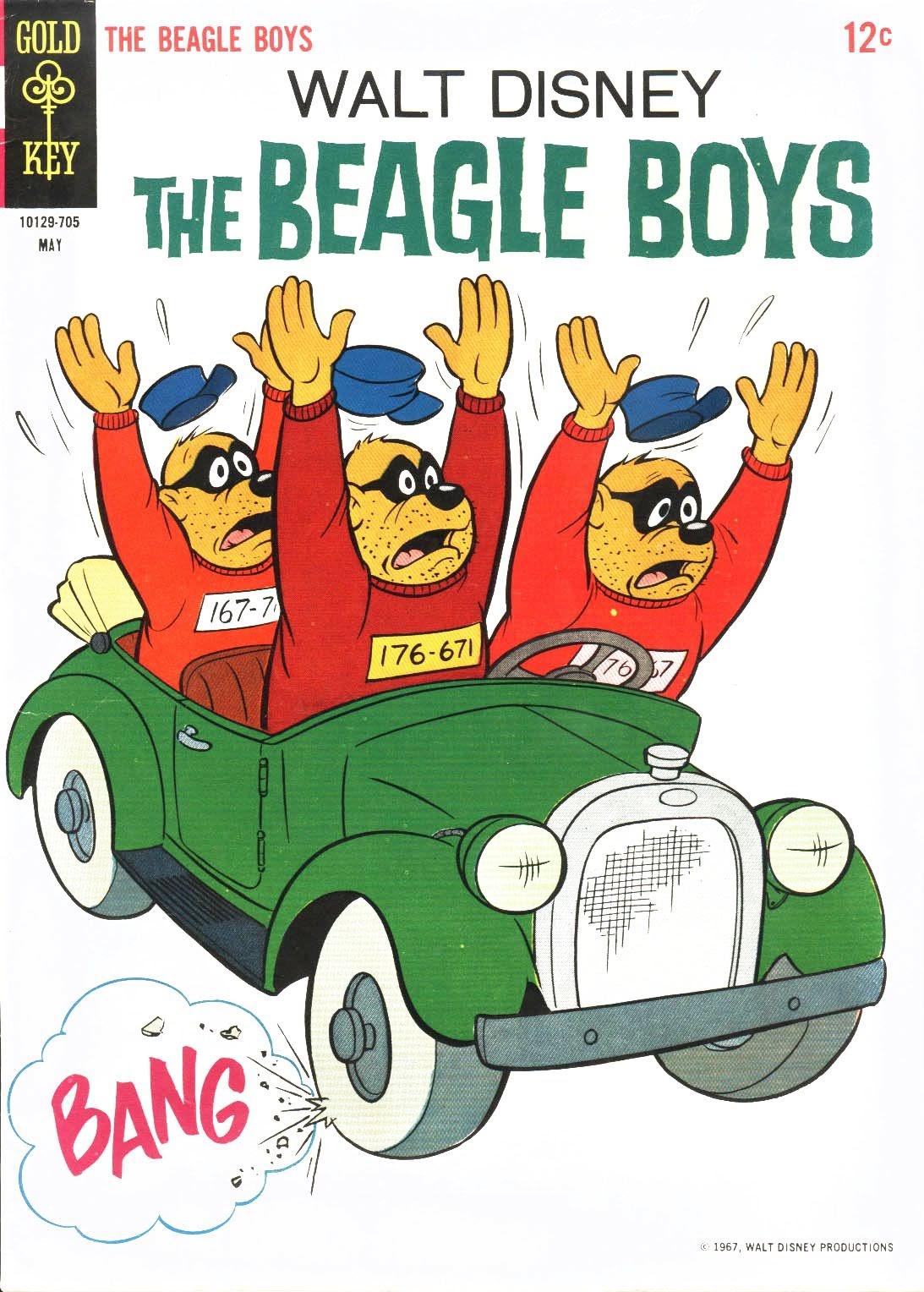 Walt Disney THE BEAGLE BOYS issue 6 - Page 1
