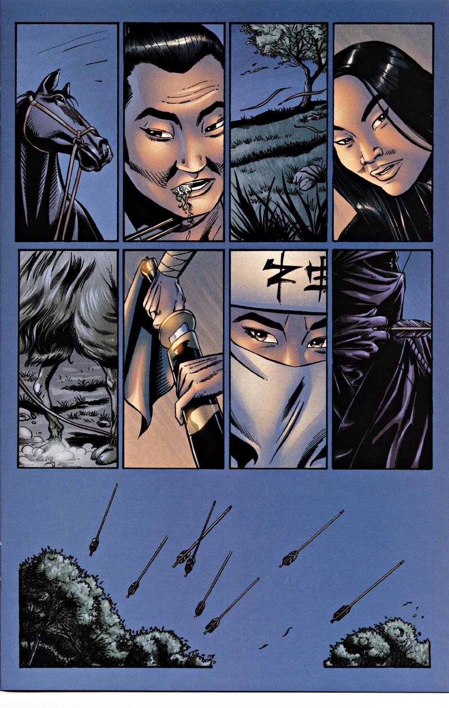 Read online Silken Ghost comic -  Issue #2 - 11