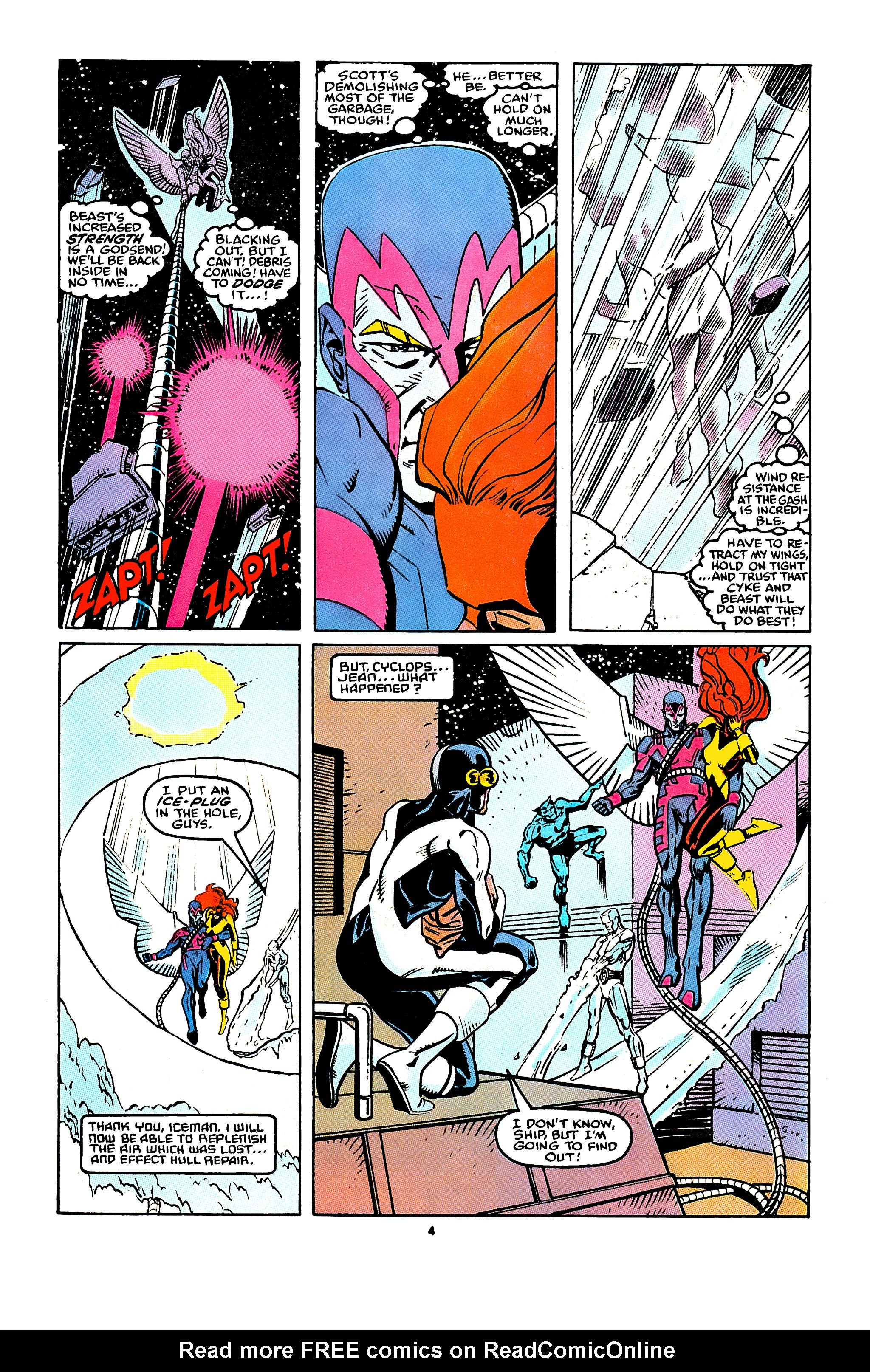 Read online X-Factor (1986) comic -  Issue #43 - 5