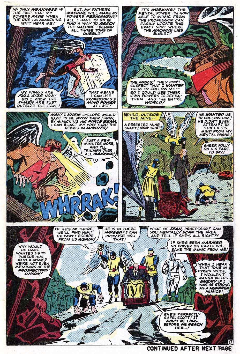 Read online Uncanny X-Men (1963) comic -  Issue #69 - 45