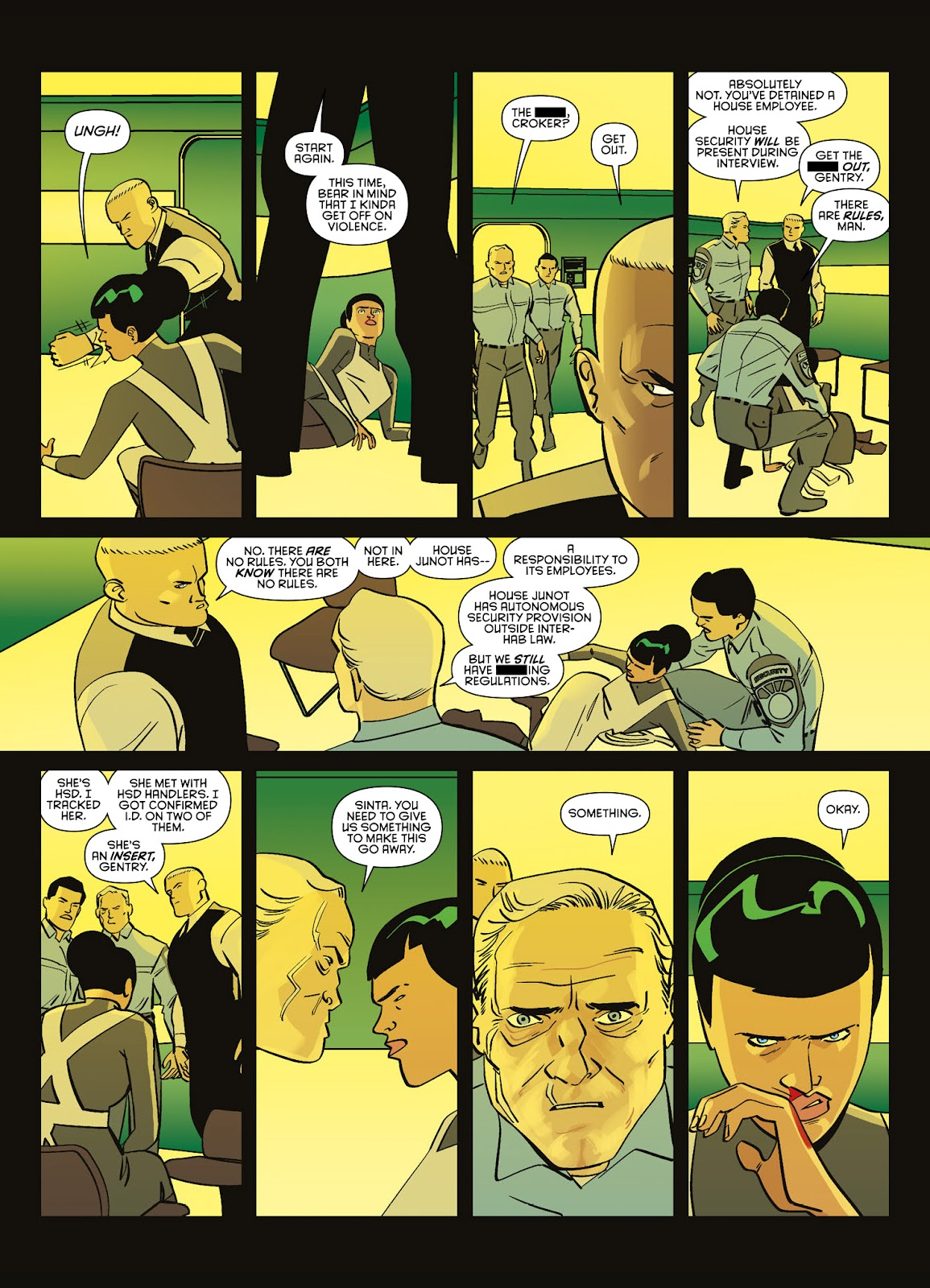 Read online Brink comic -  Issue # TPB 3 - 50