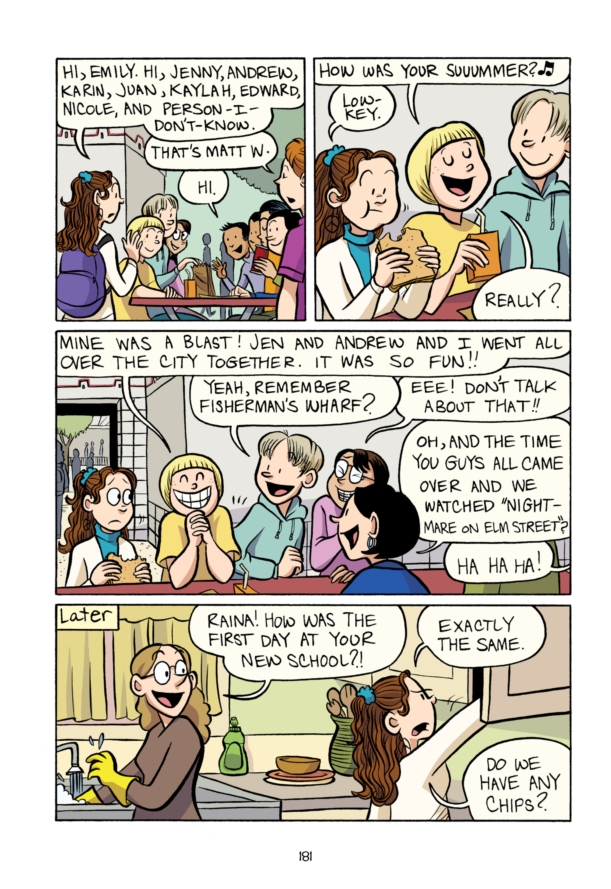Read online Smile comic -  Issue # TPB - 187