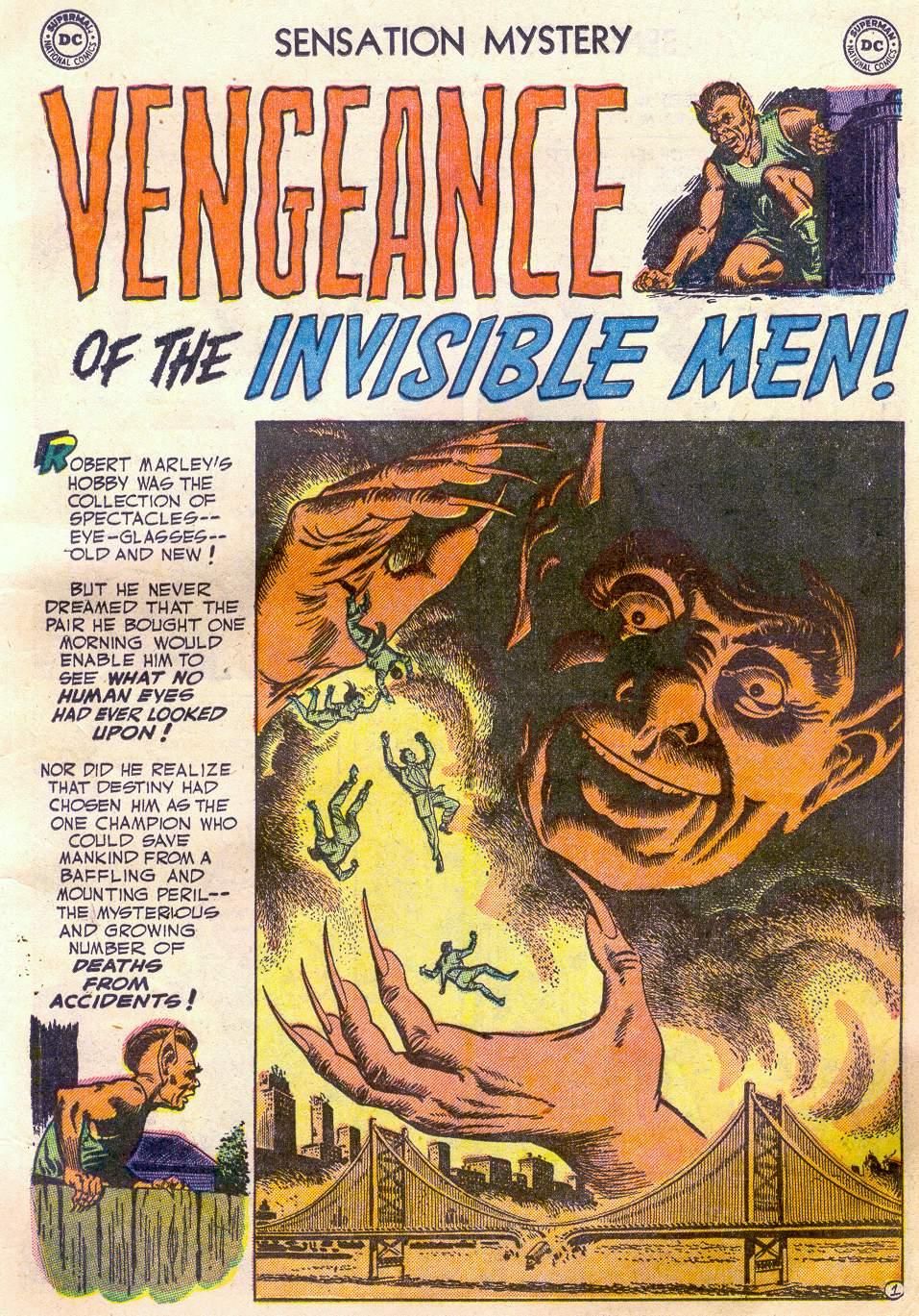Read online Sensation (Mystery) Comics comic -  Issue #110 - 13