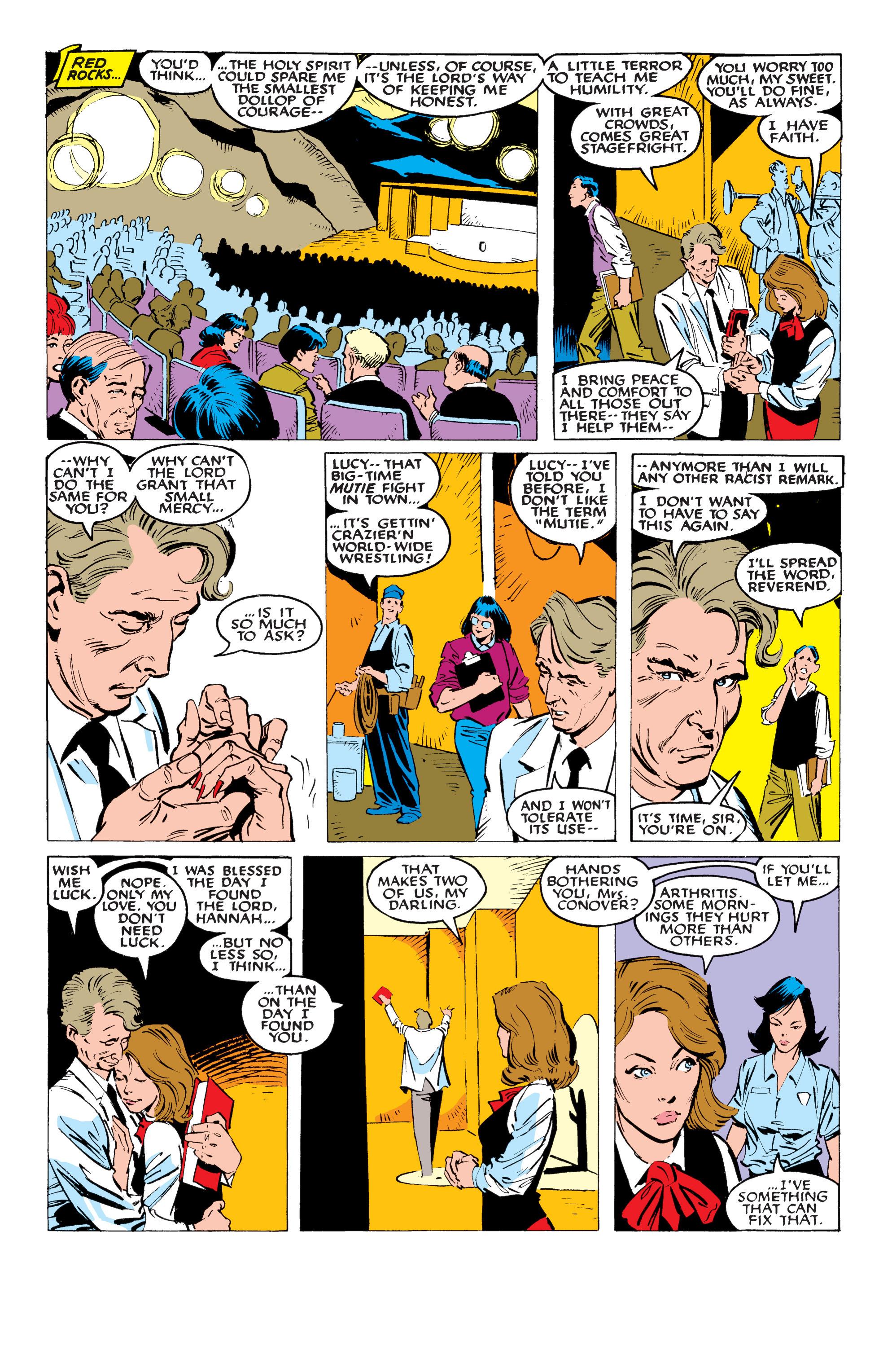 Read online Uncanny X-Men (1963) comic -  Issue #234 - 13