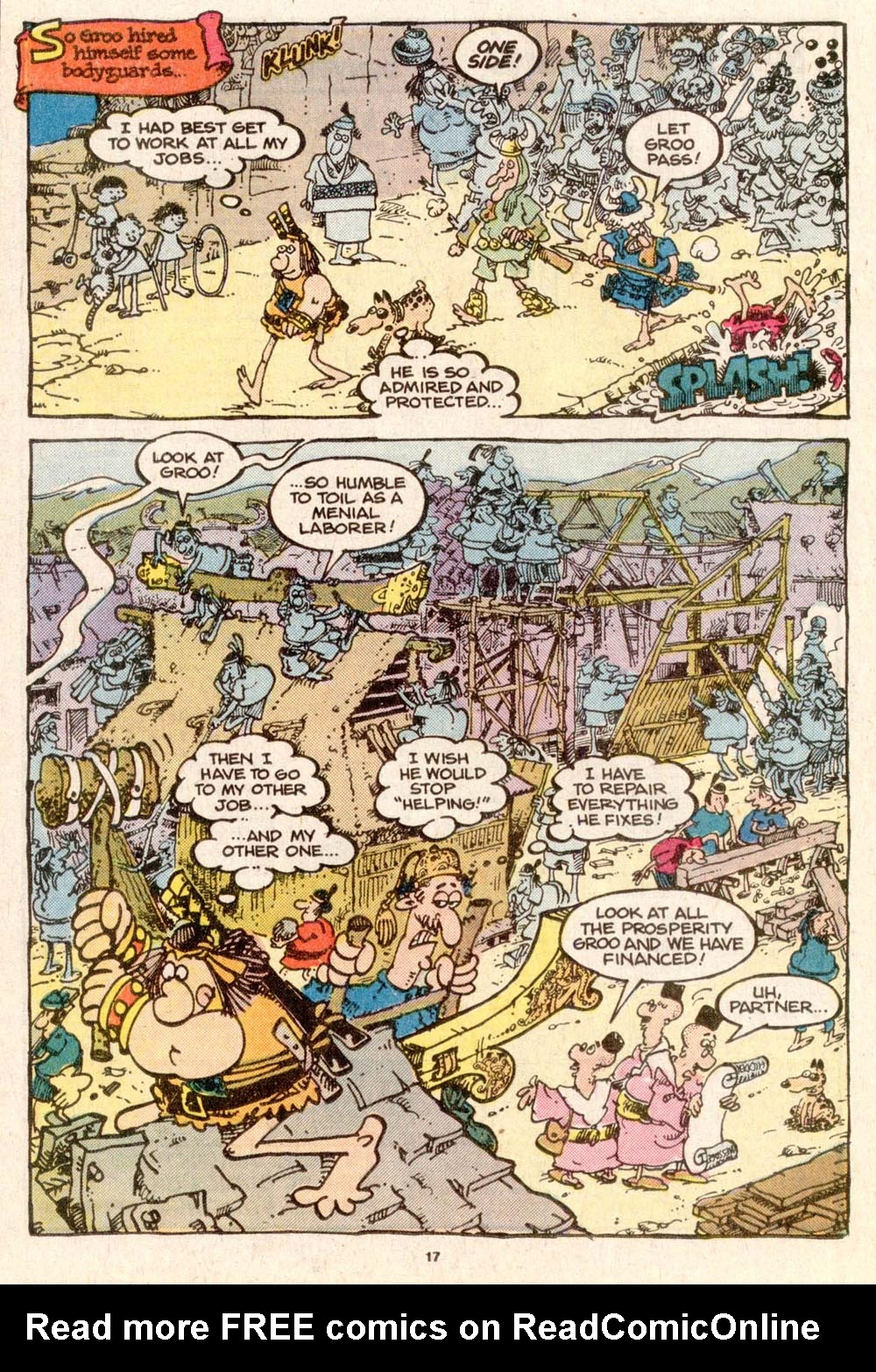 Read online Sergio Aragonés Groo the Wanderer comic -  Issue #32 - 17