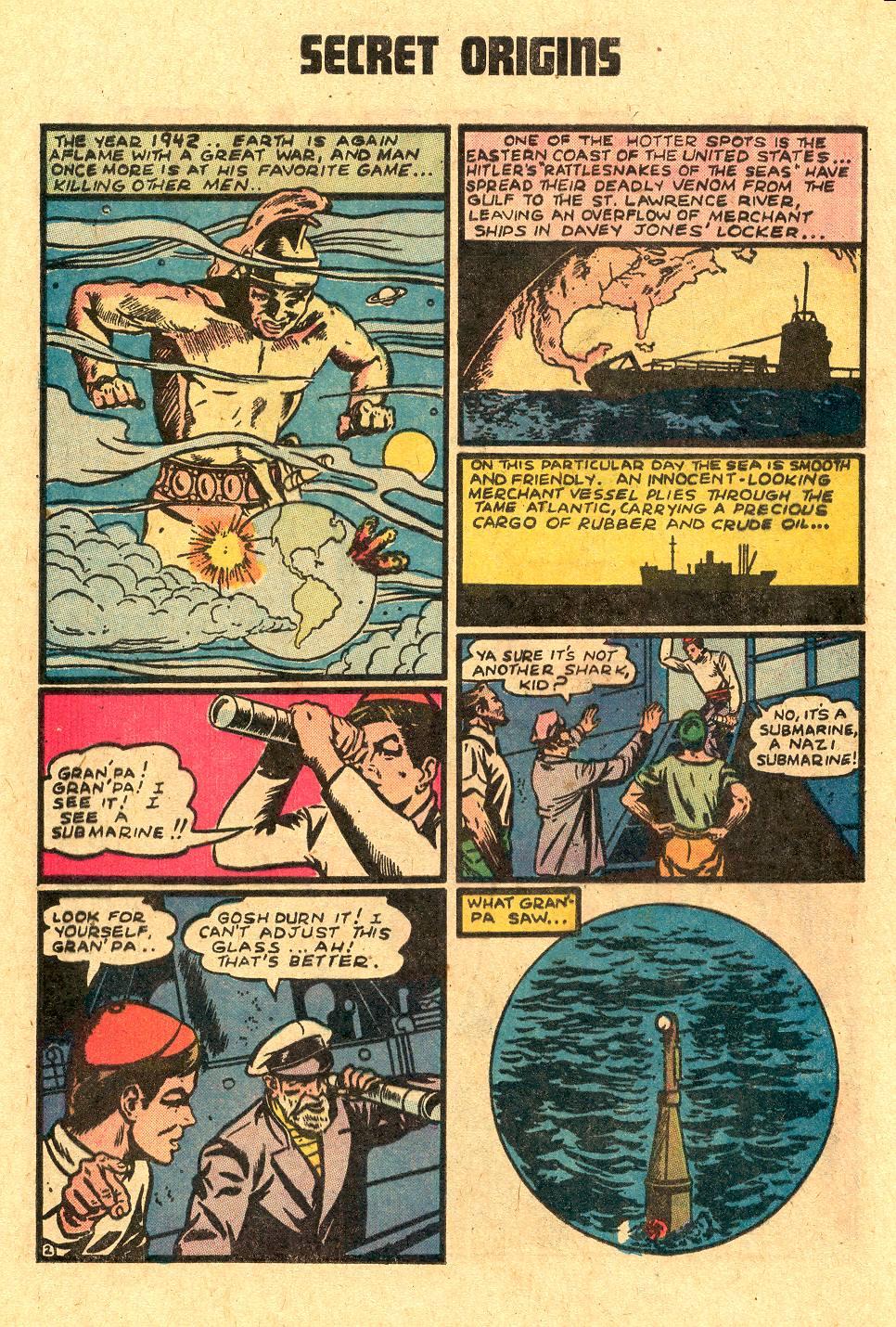 Read online Secret Origins (1973) comic -  Issue #4 - 16