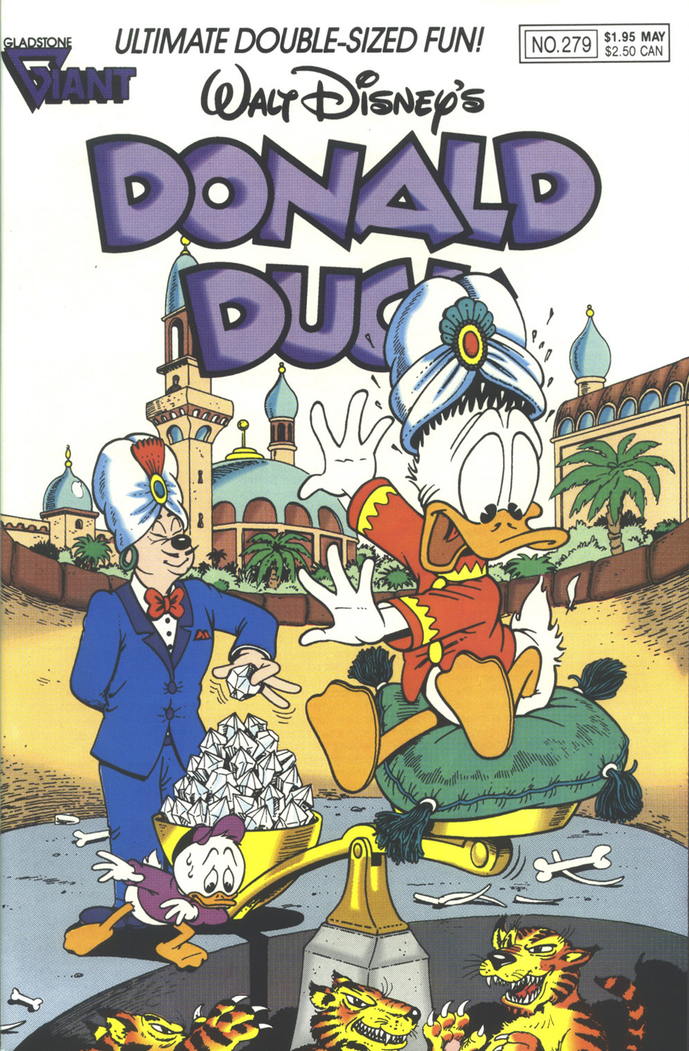 Walt Disney's Donald Duck (1952) issue 279 - Page 1