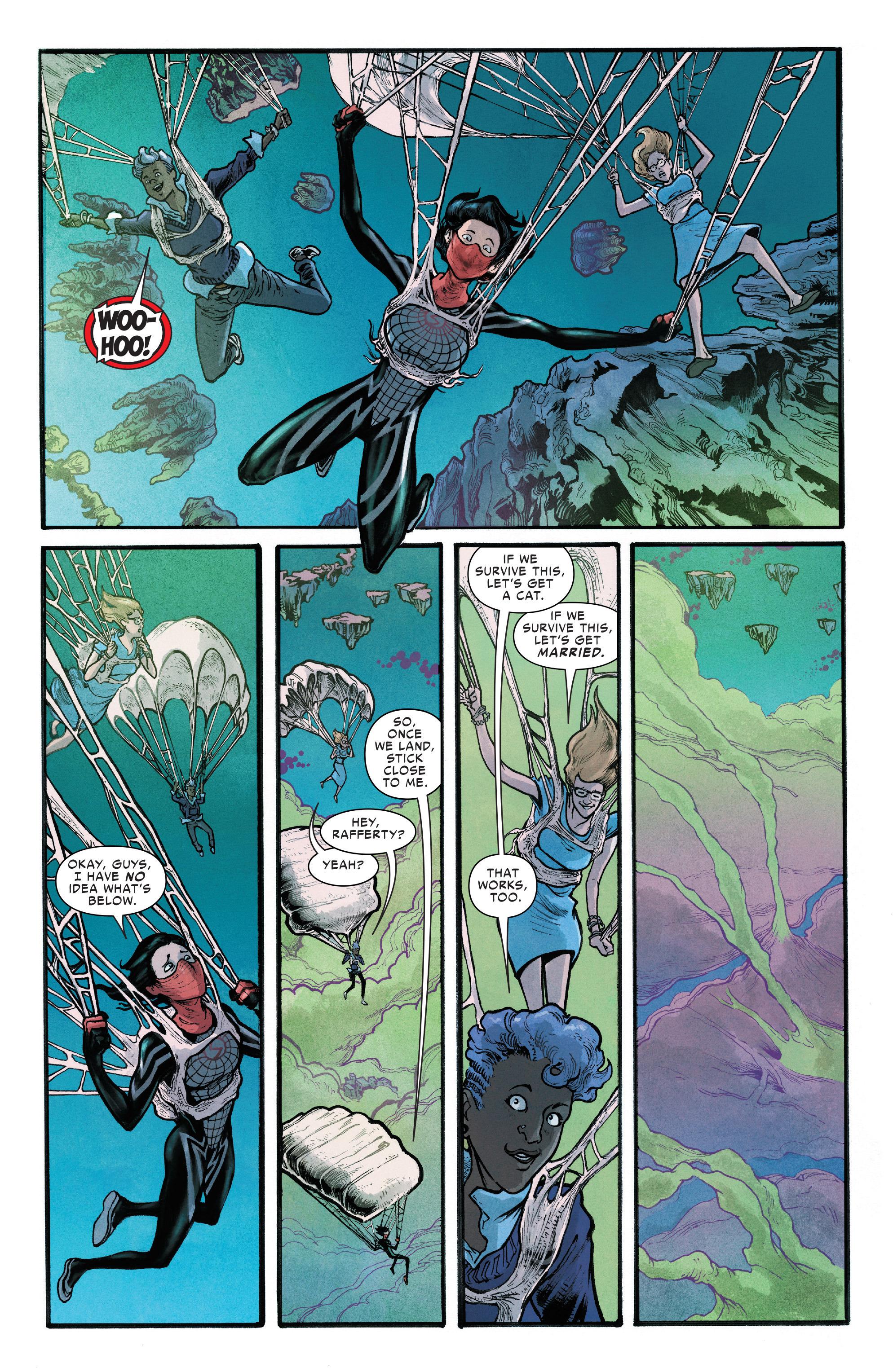 Read online Silk (2016) comic -  Issue #12 - 7