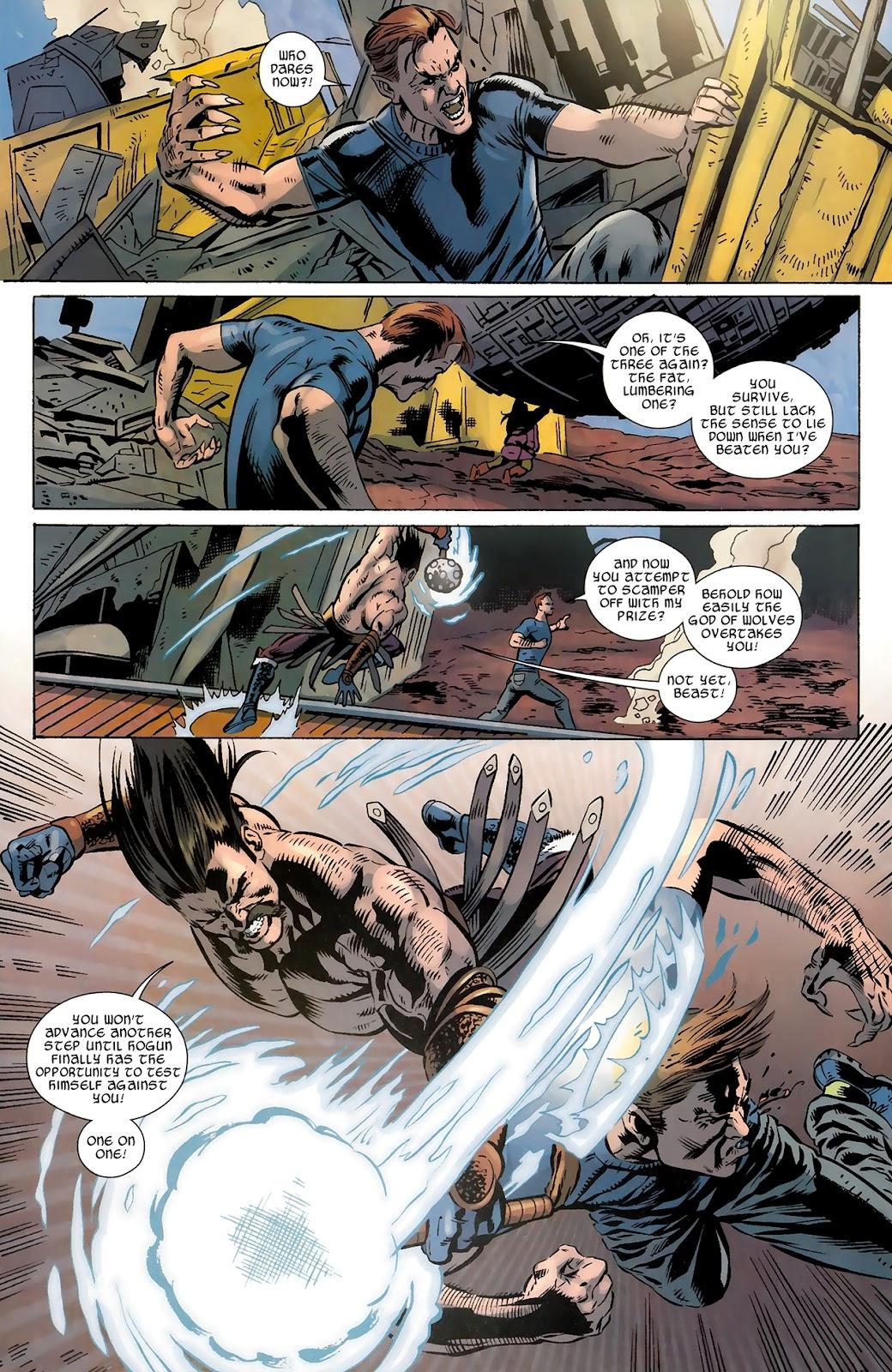 Warriors Three Issue #4 #4 - English 17
