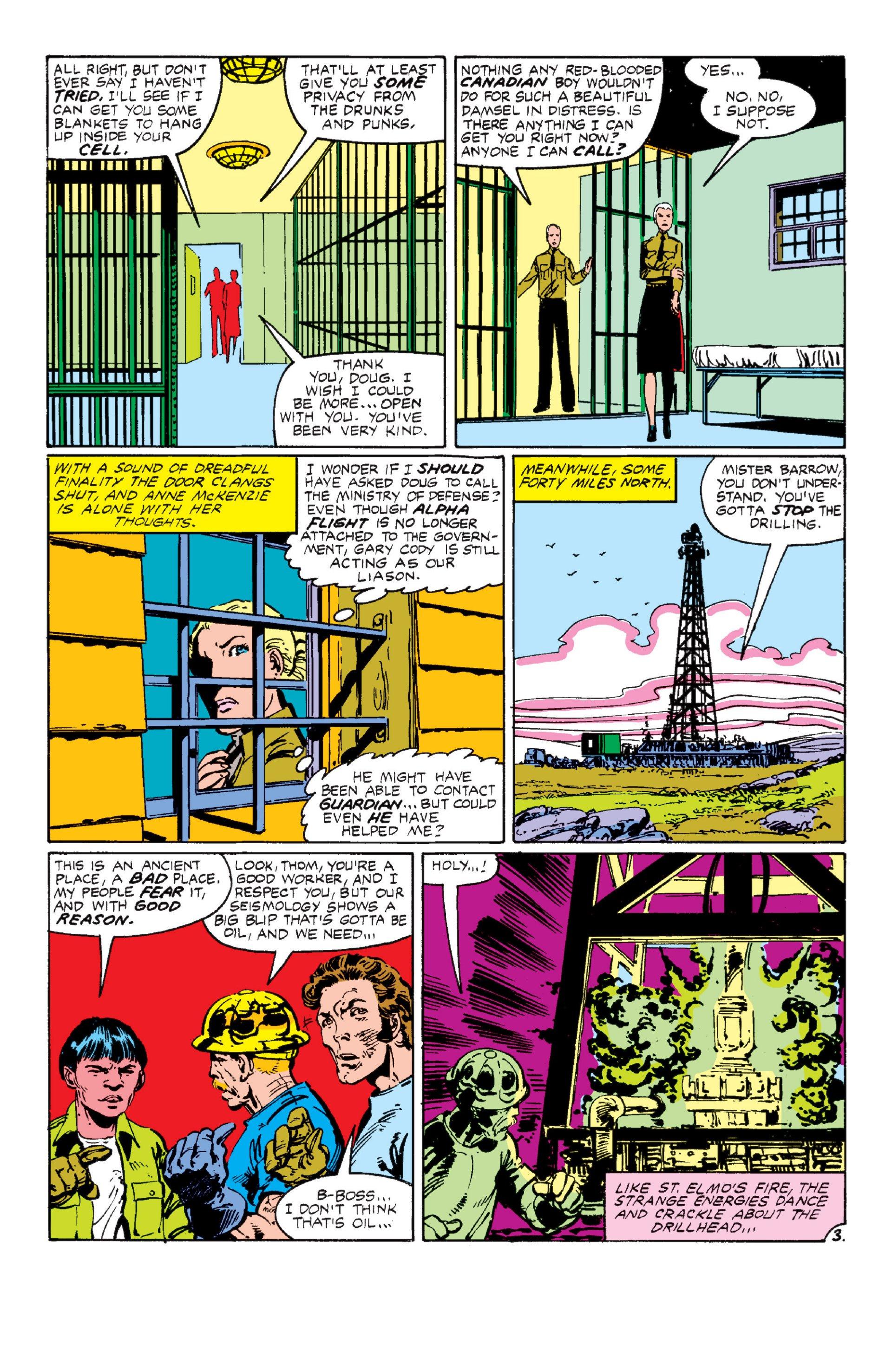Read online Alpha Flight (1983) comic -  Issue #6 - 4