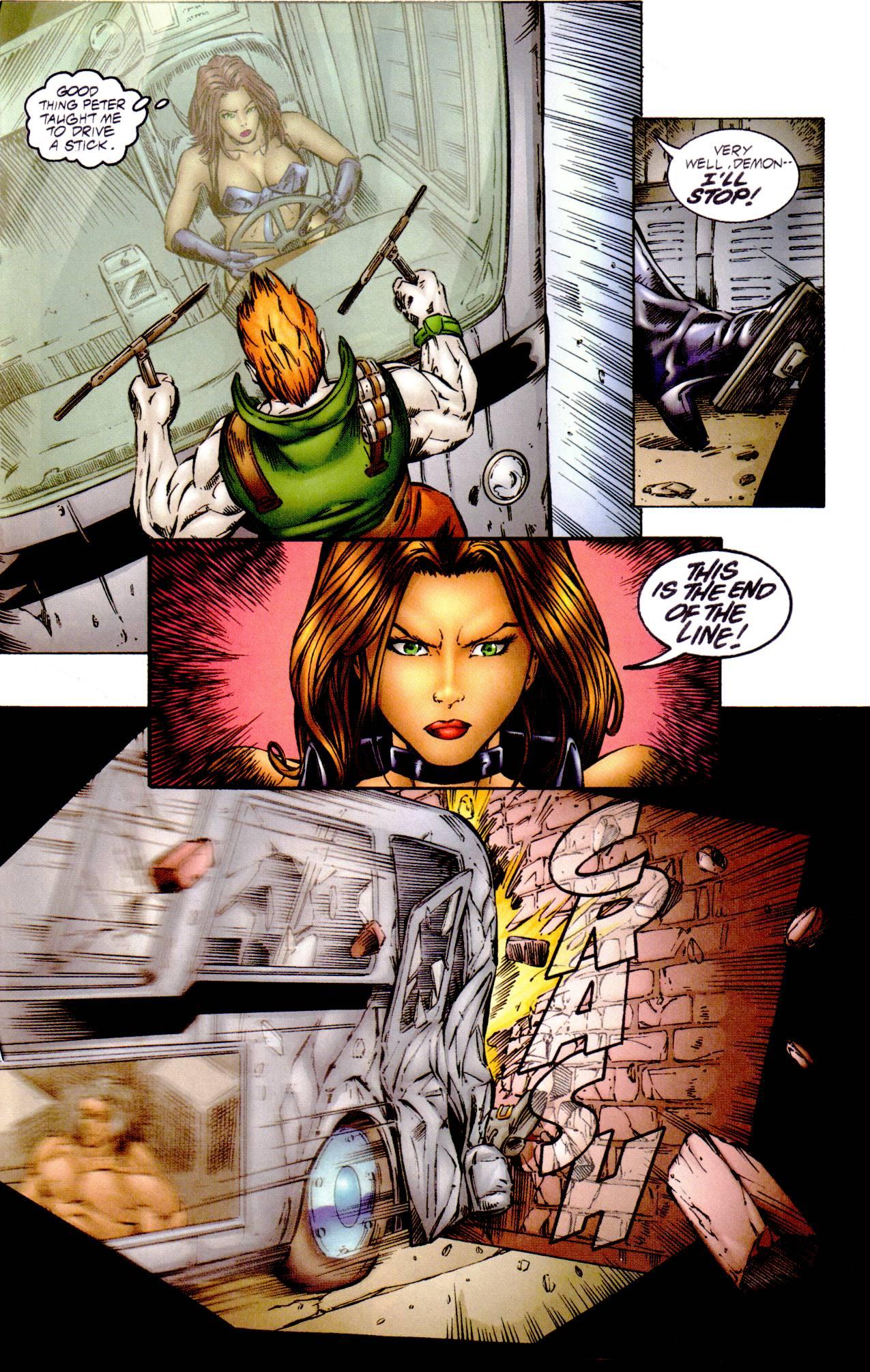 Read online Avengelyne (1996) comic -  Issue #14 - 15