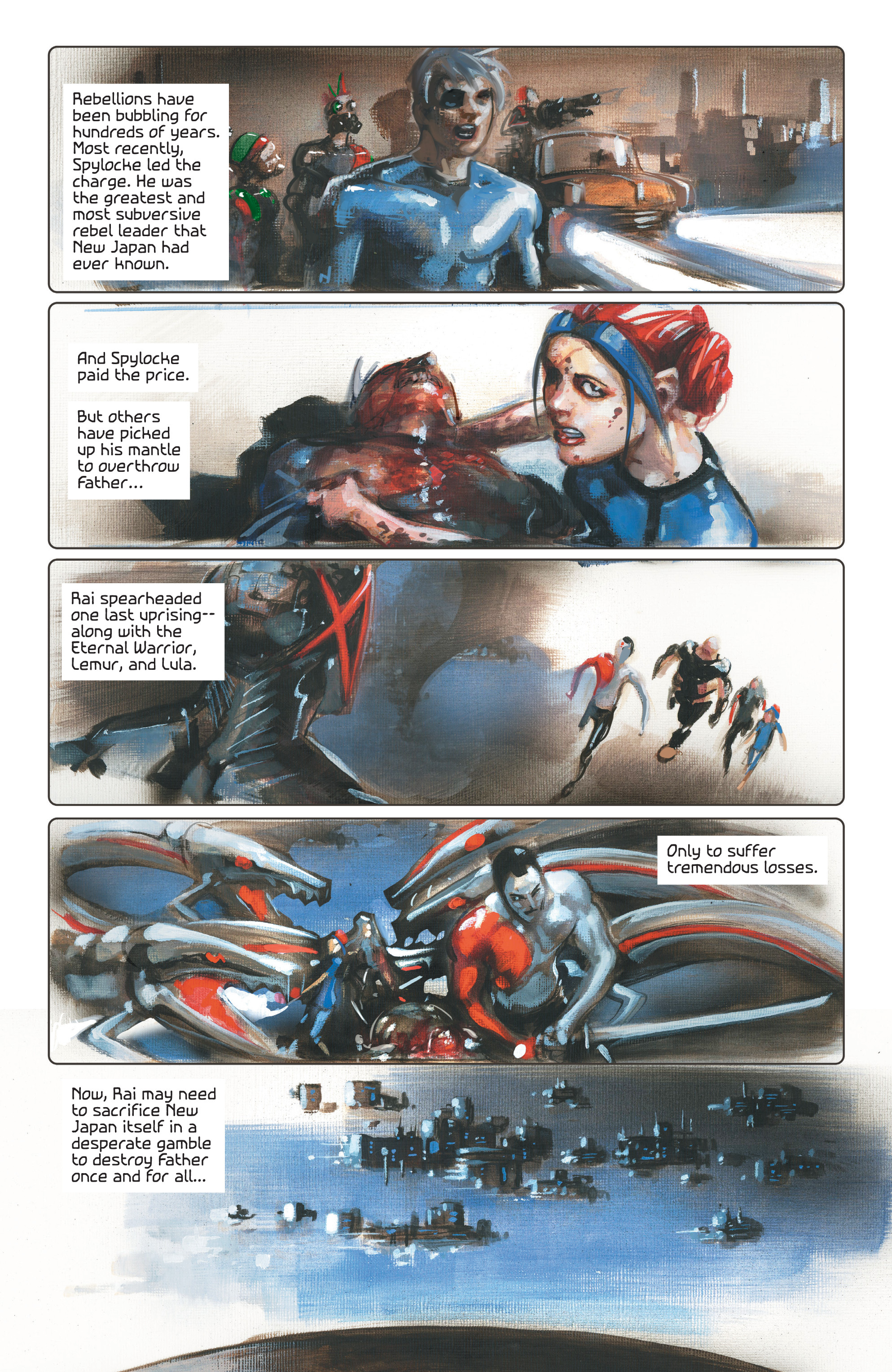 Read online 4001 A.D. comic -  Issue #4 - 4